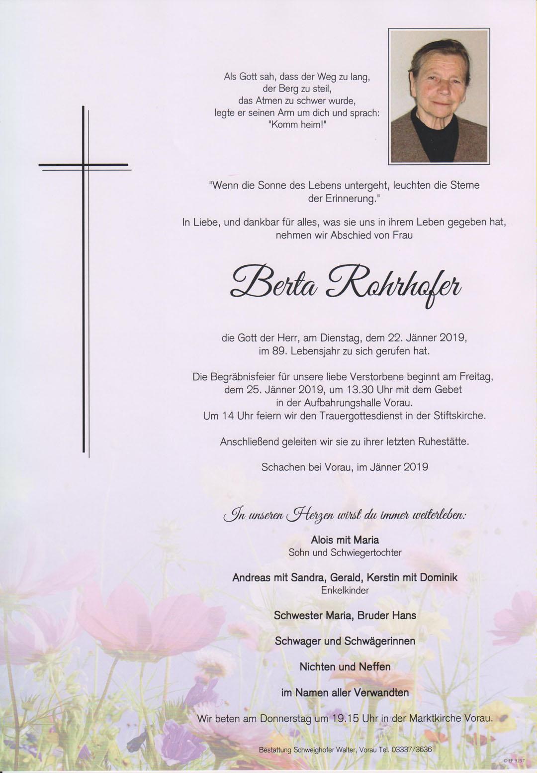 Berta Rohrhofer