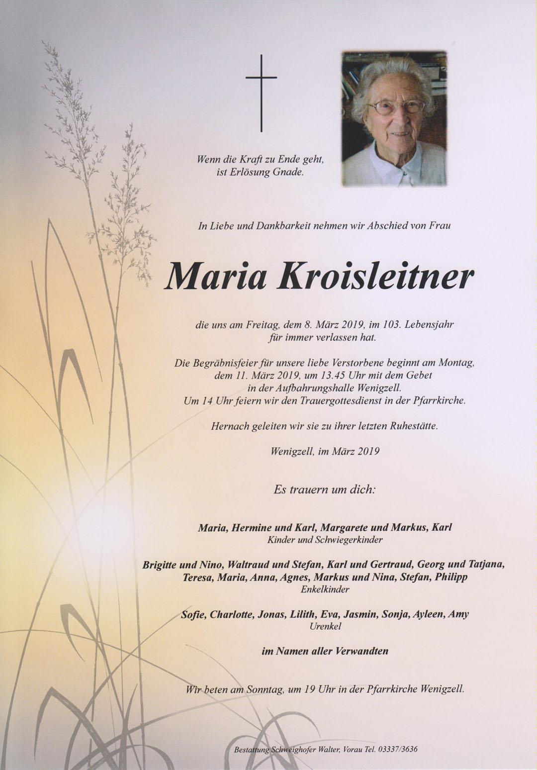Maria Kroisleitner