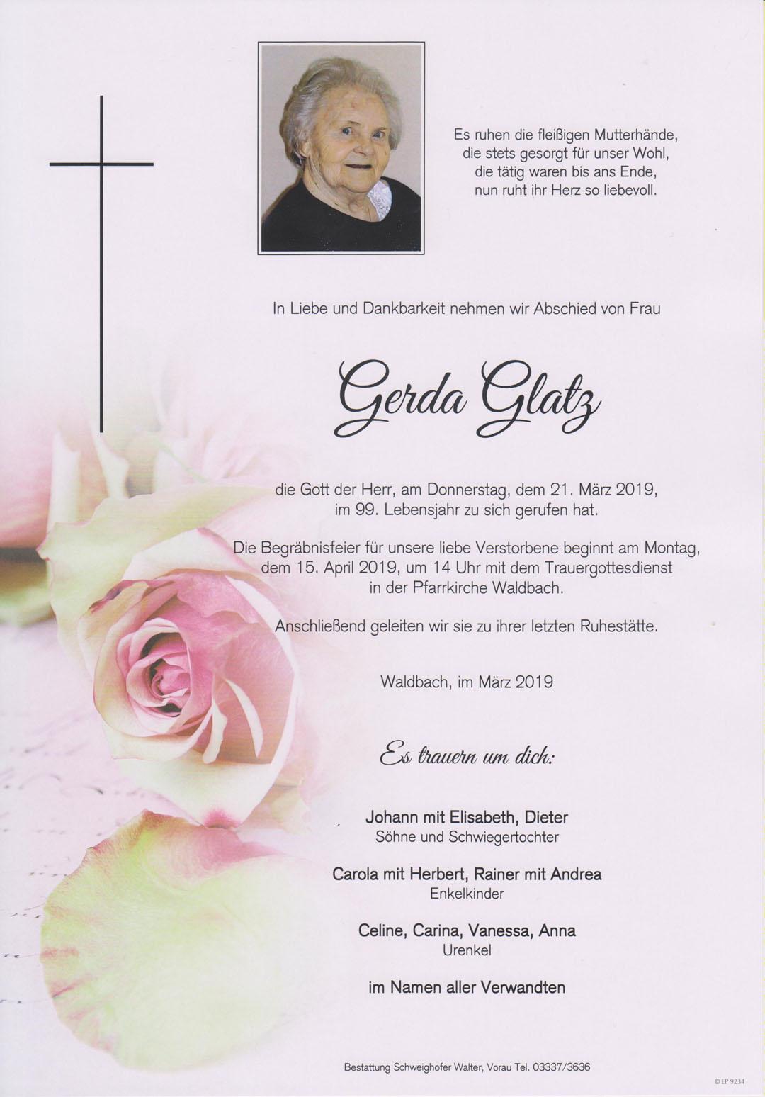 Gerda Glatz