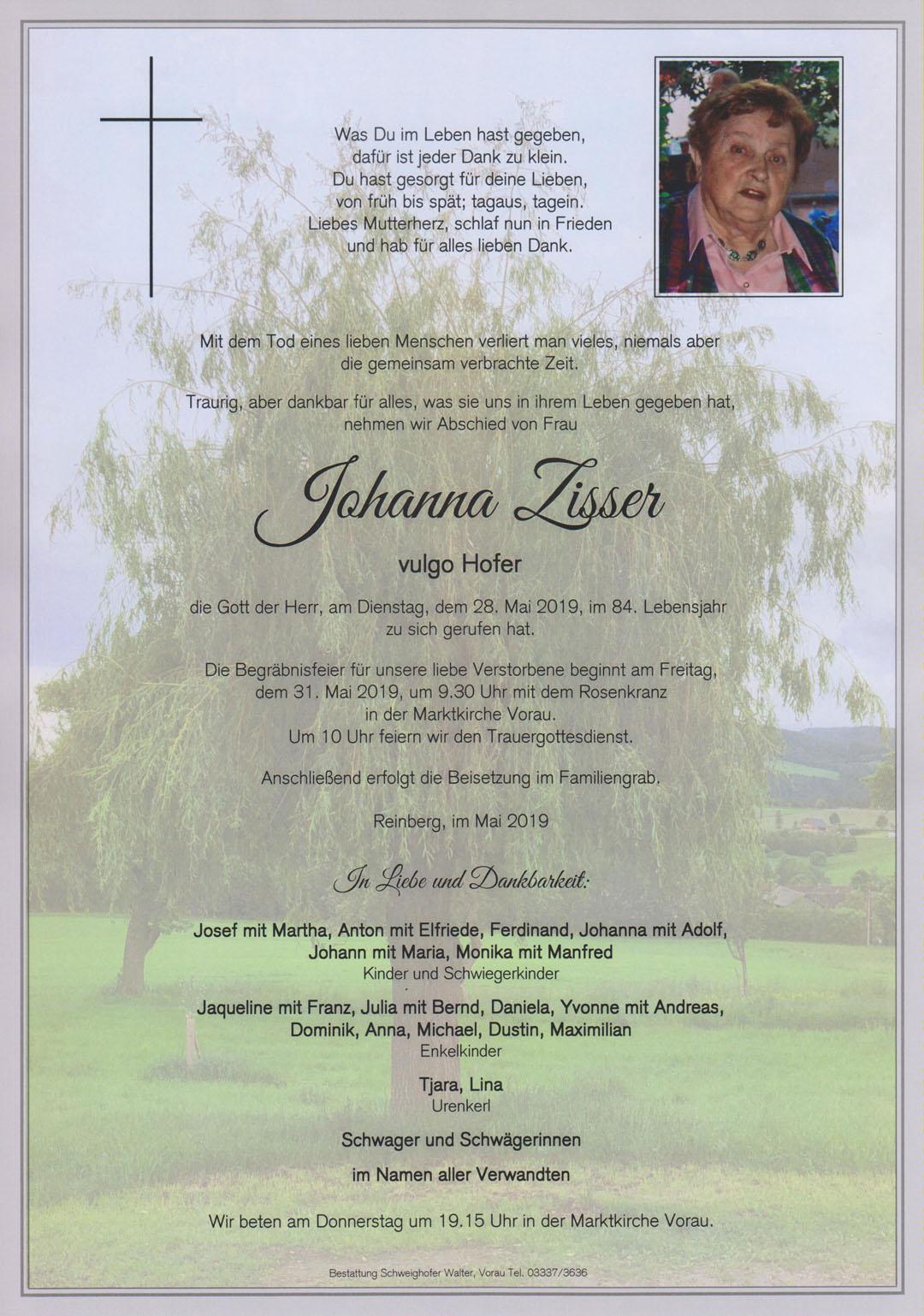 Johanna Zisser