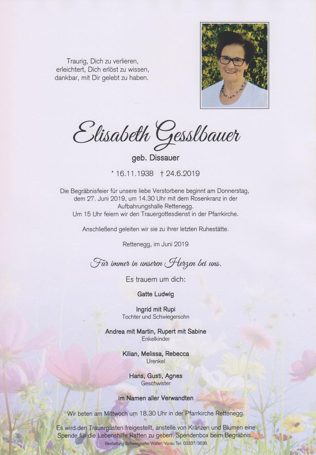 Elisabeth Gesslbauer