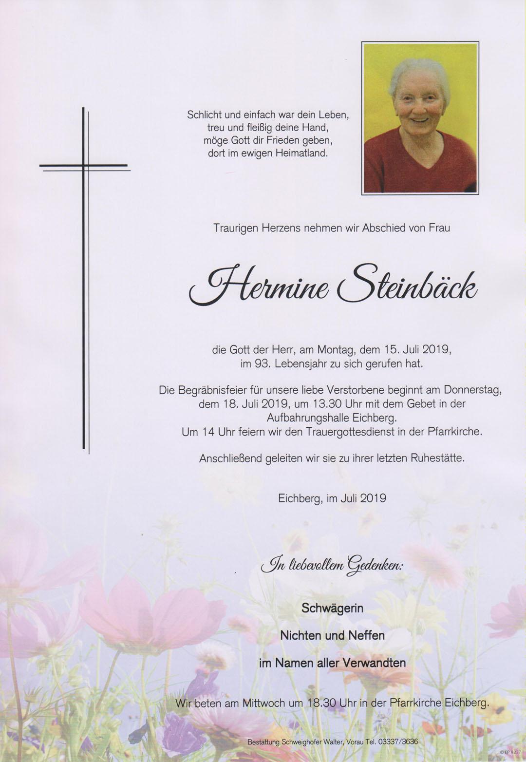 Hermine Steinbäck