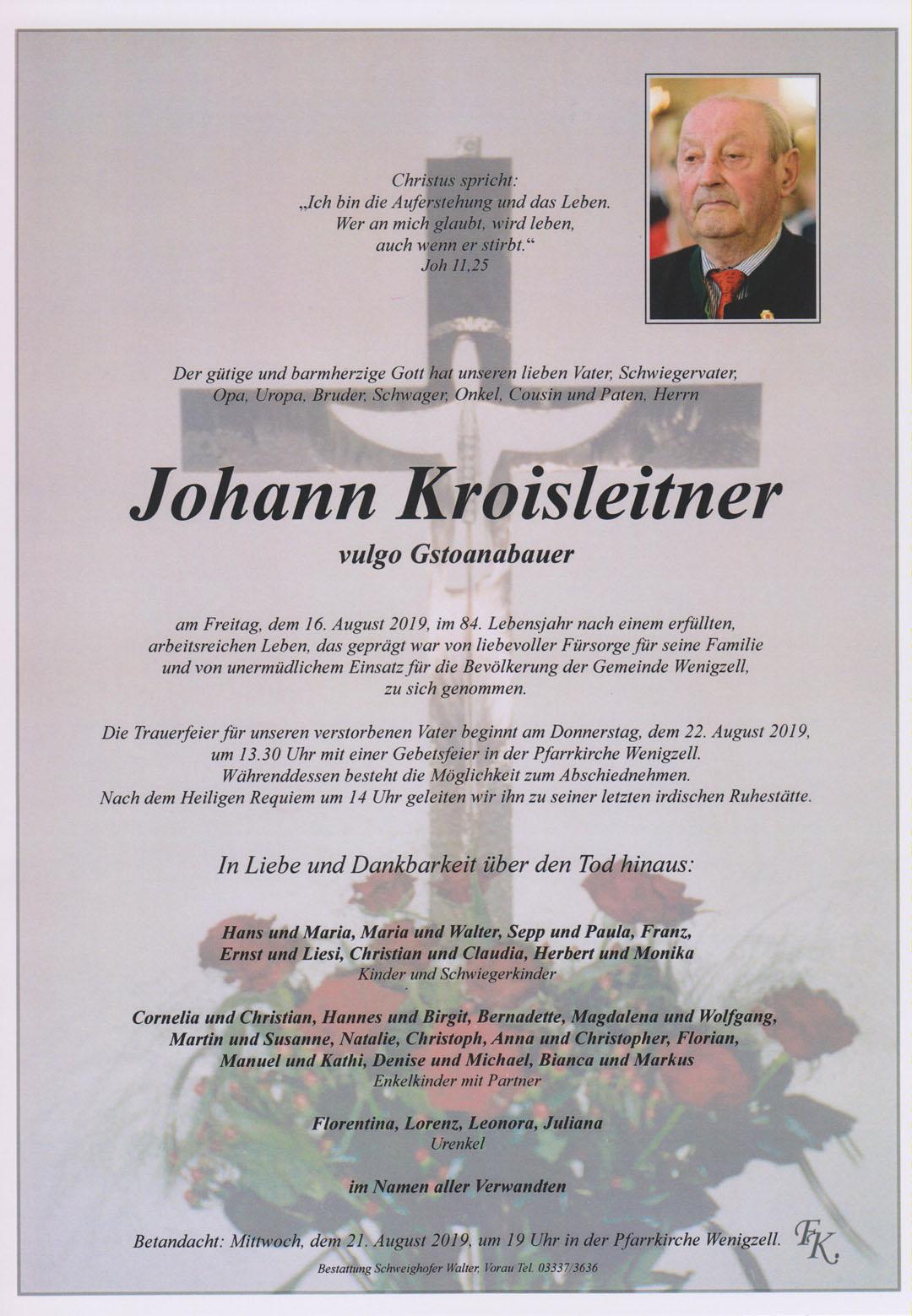 Johann Kroisleitner