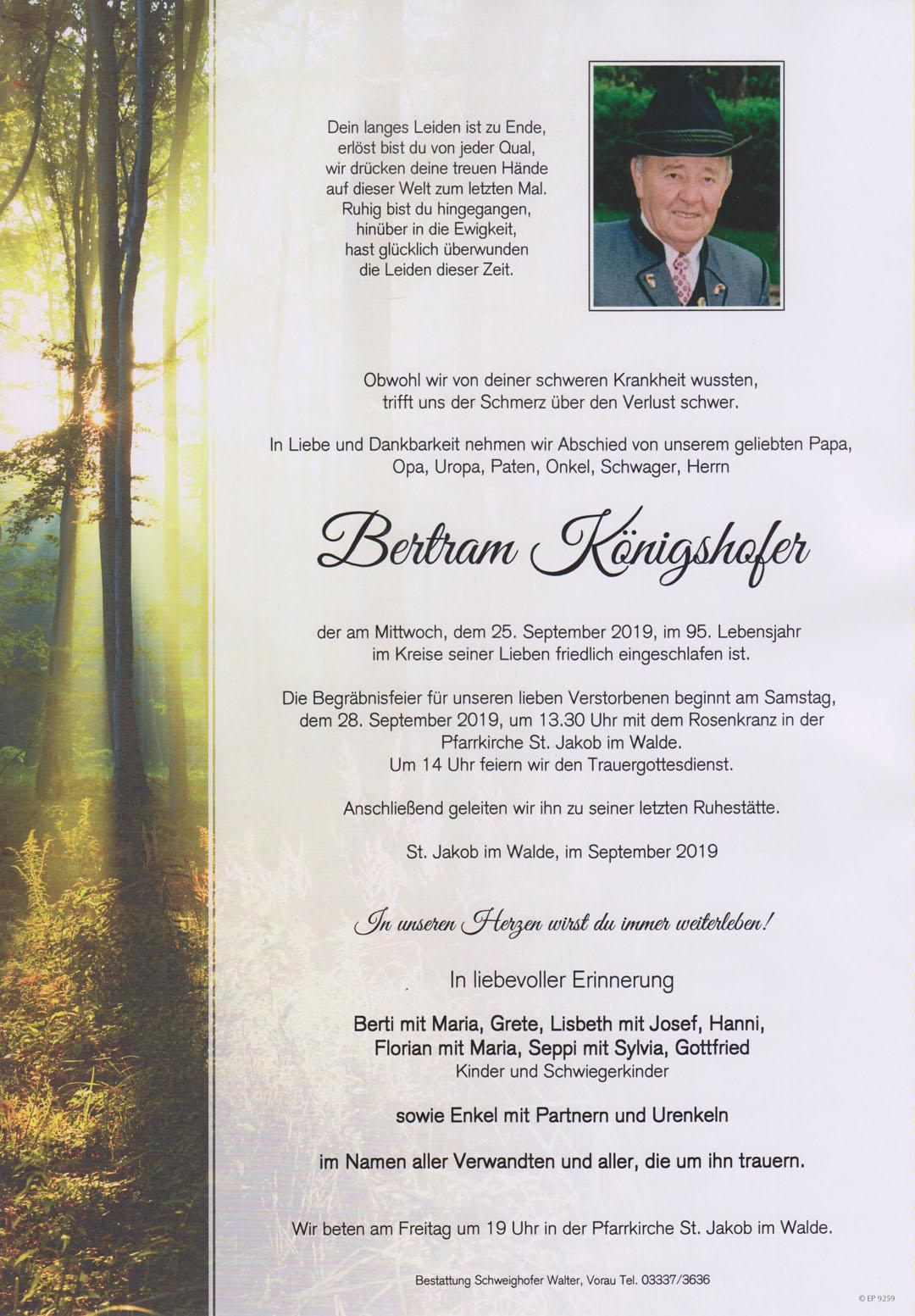 Bertram Königshofer