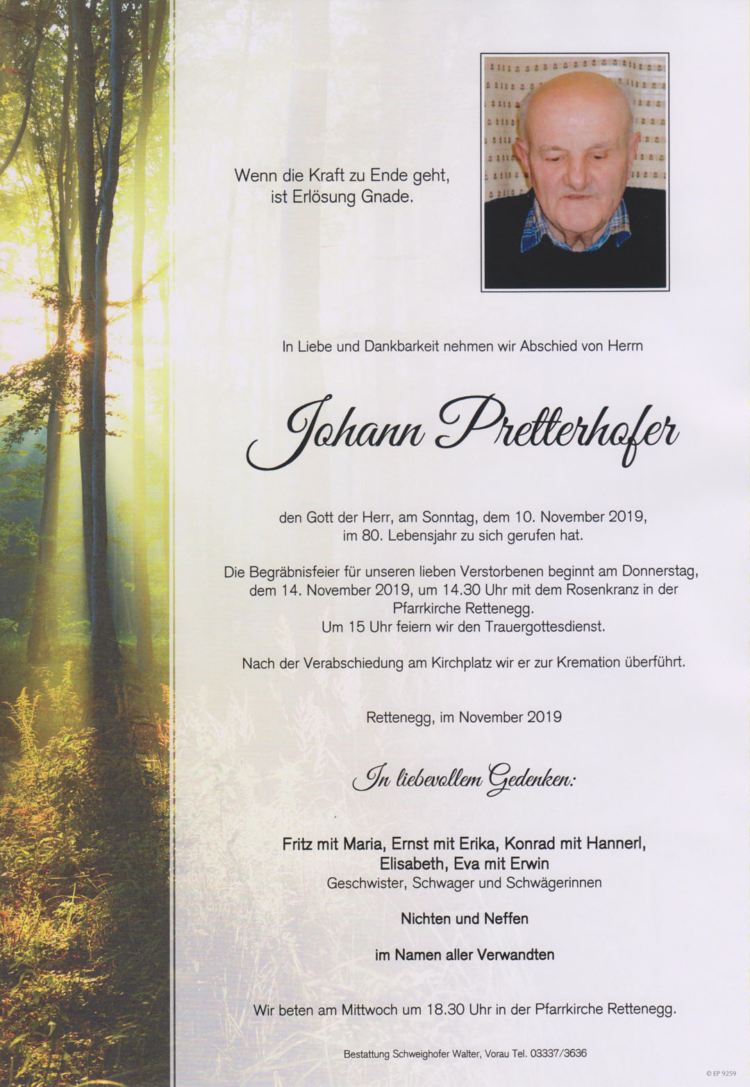 Johann Prettenhofer