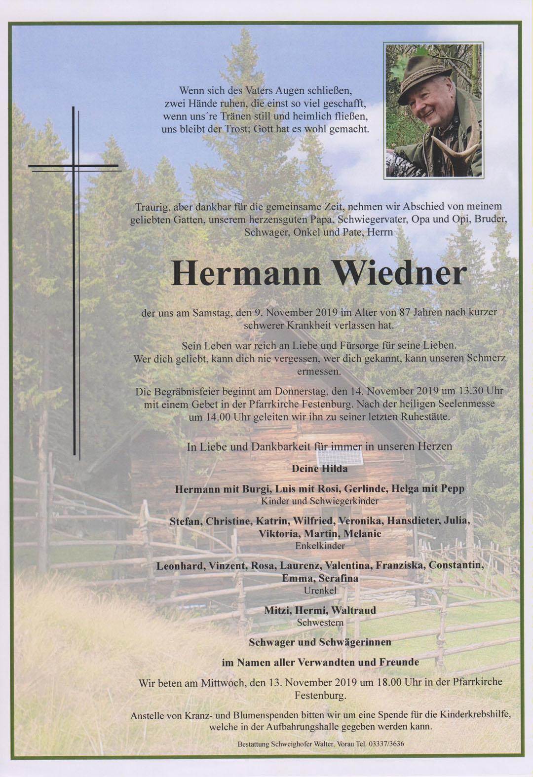 Hermann Wiedner