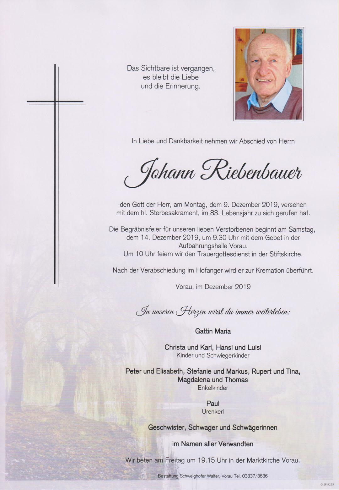 Johann Riebenbauer