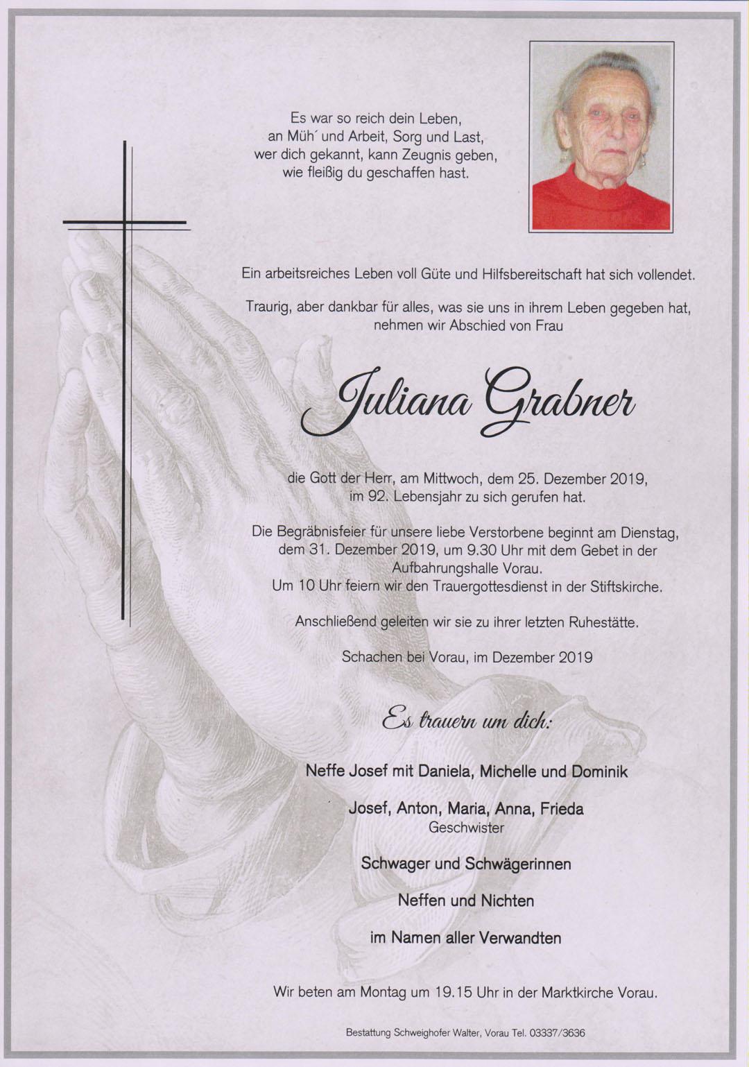 Juliana Grabner