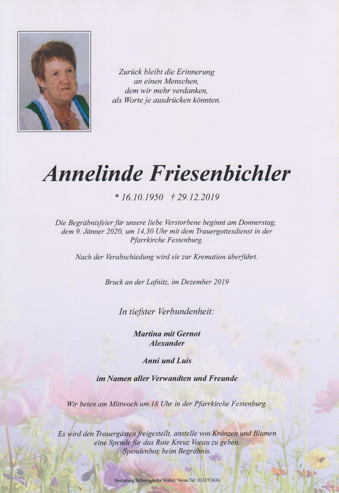 Annelinde Friesenbichler