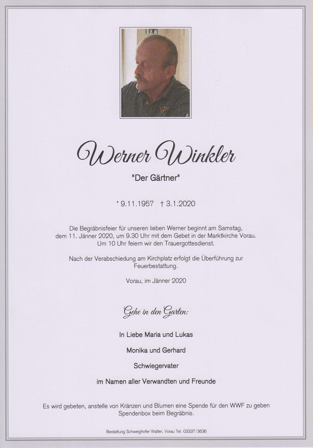 Werner Winkler