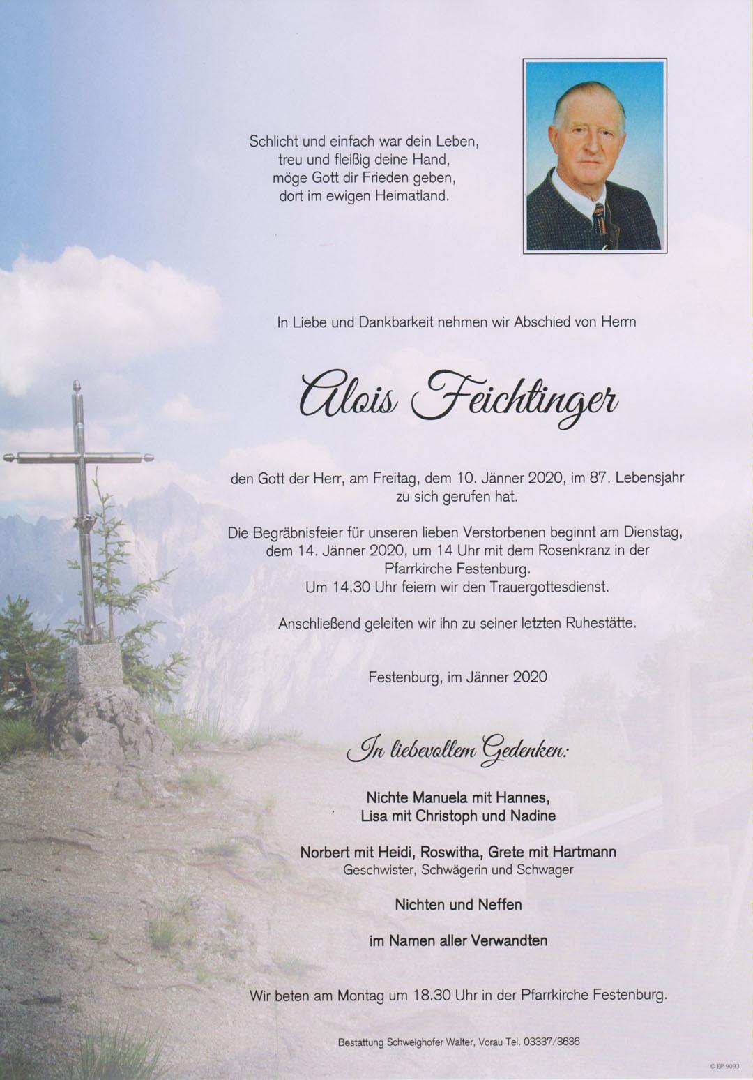 Alois Feichtinger