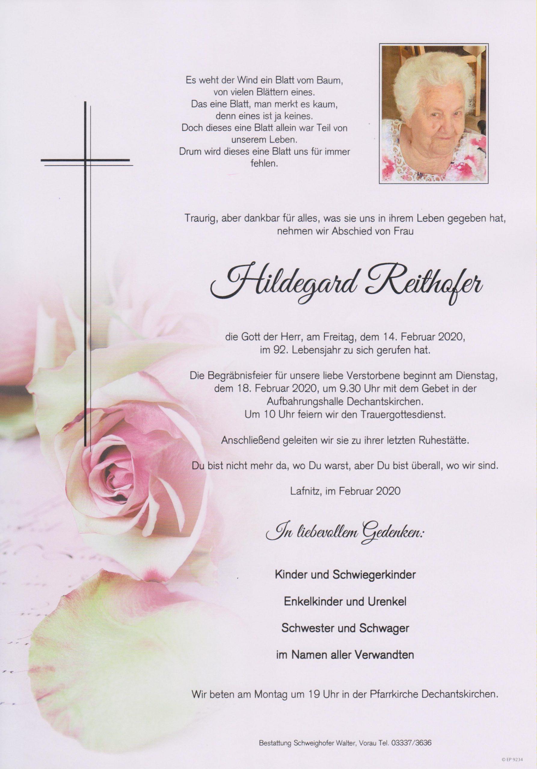 Hildegard Reithofer