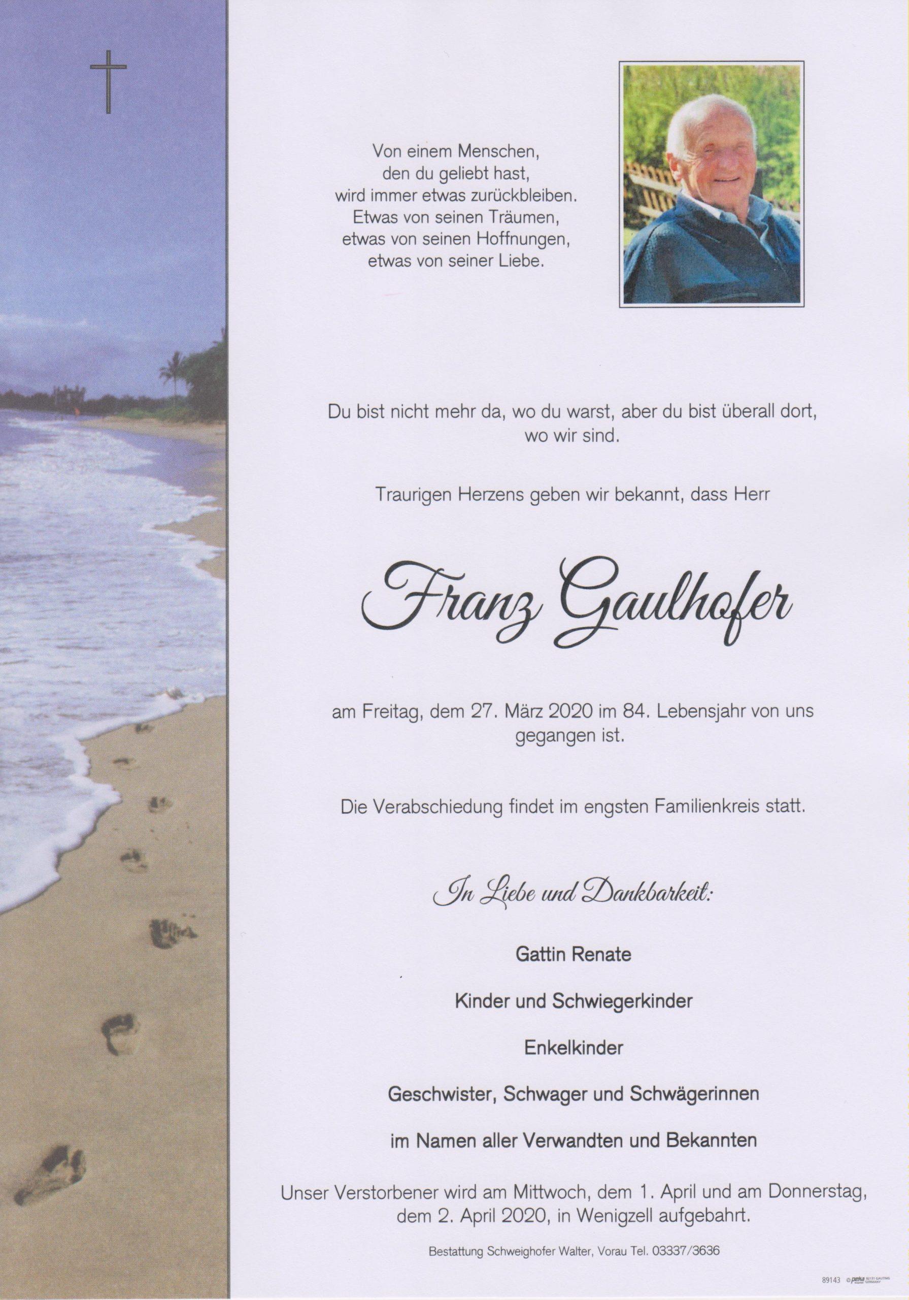 Franz Gaulhofer