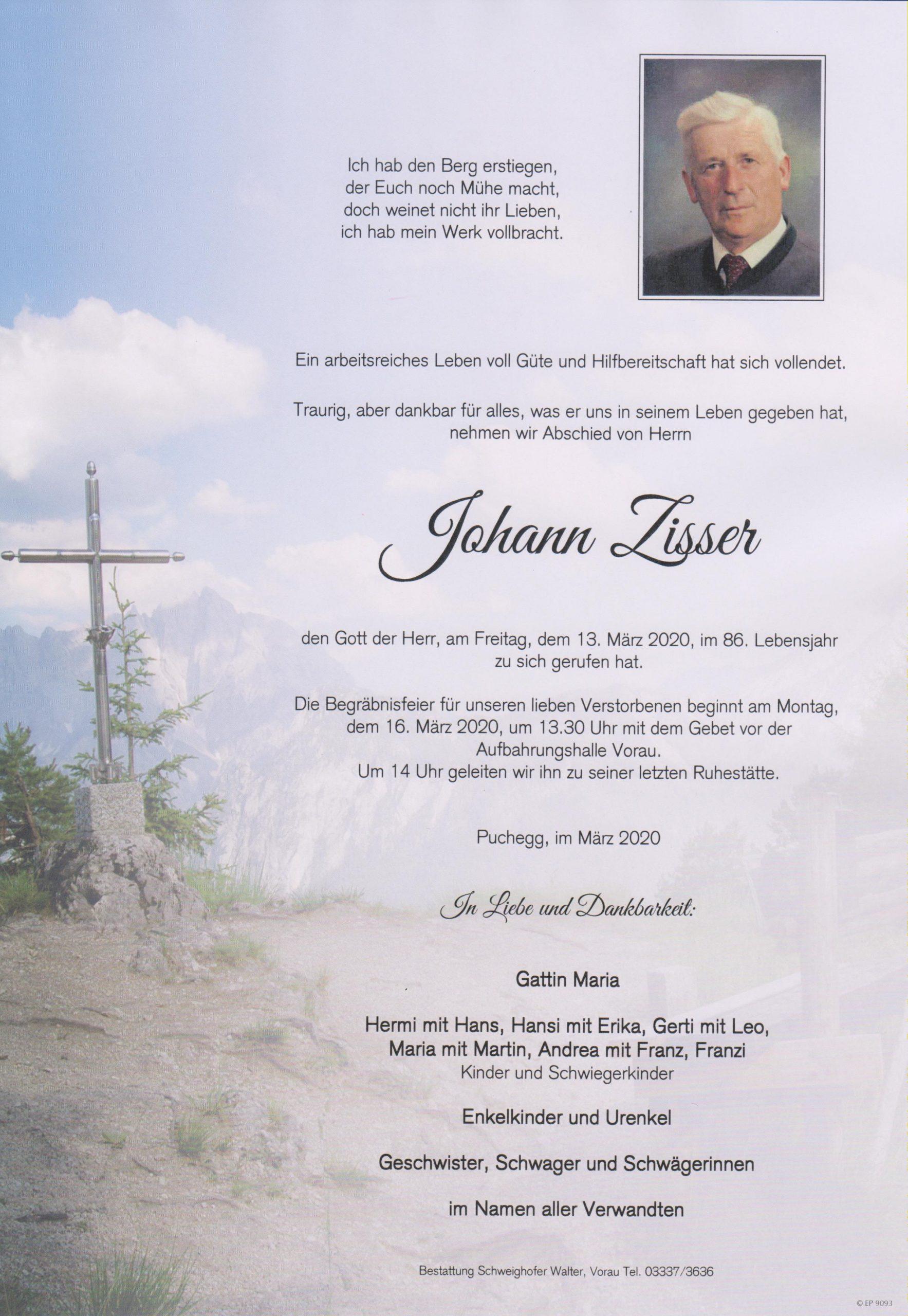 Johann Zisser