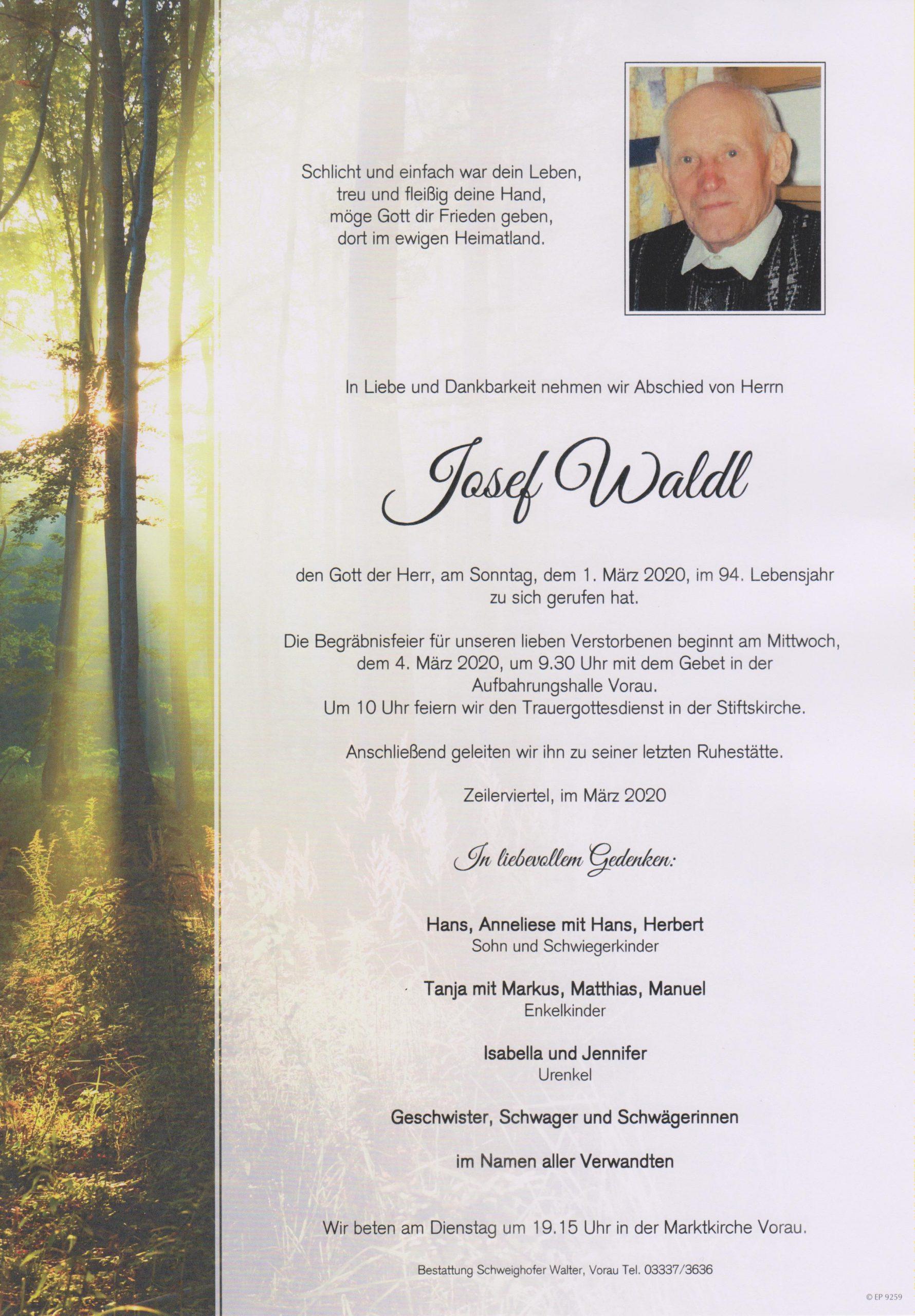Josef Waldl