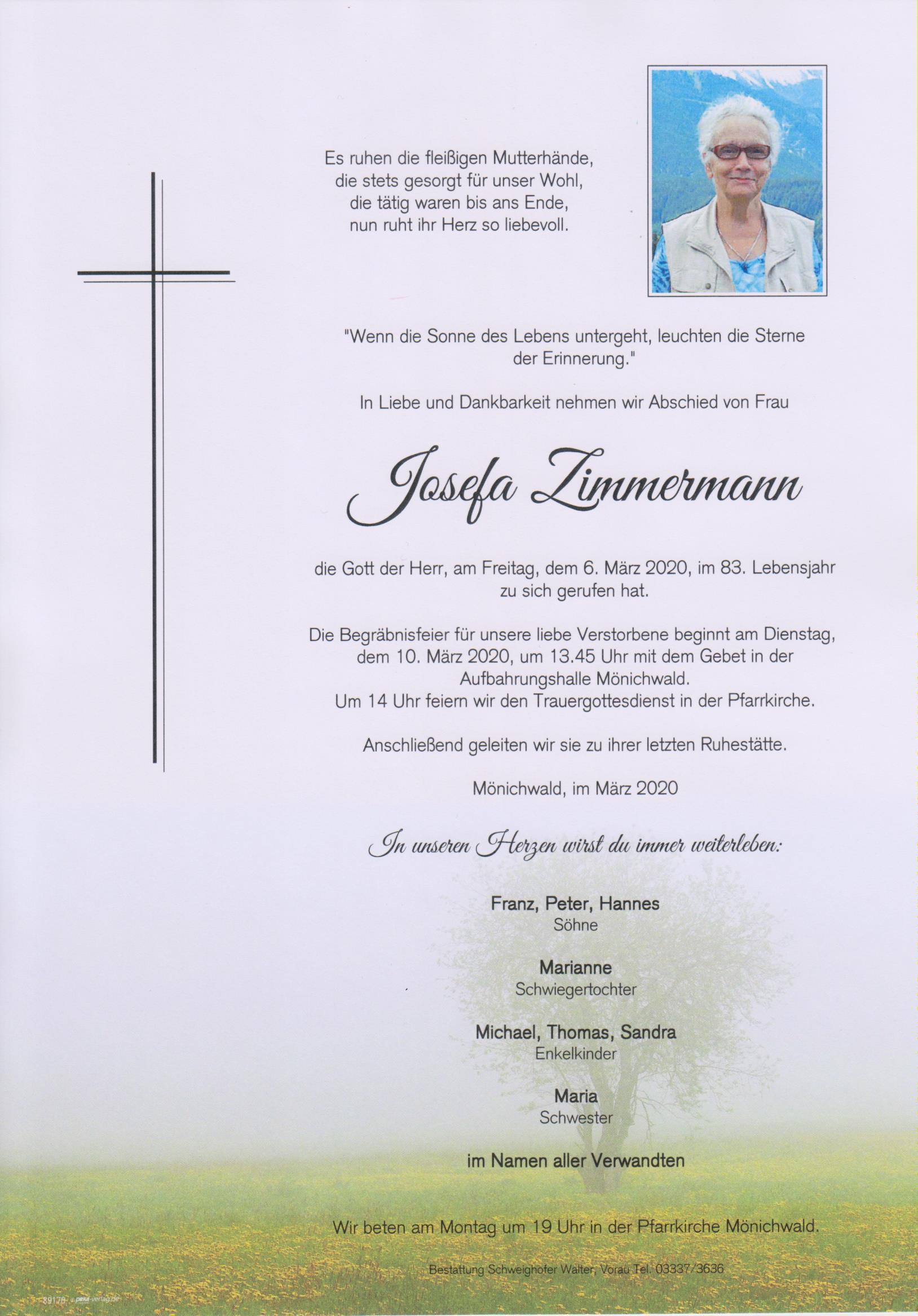 Josefa Zimmermann