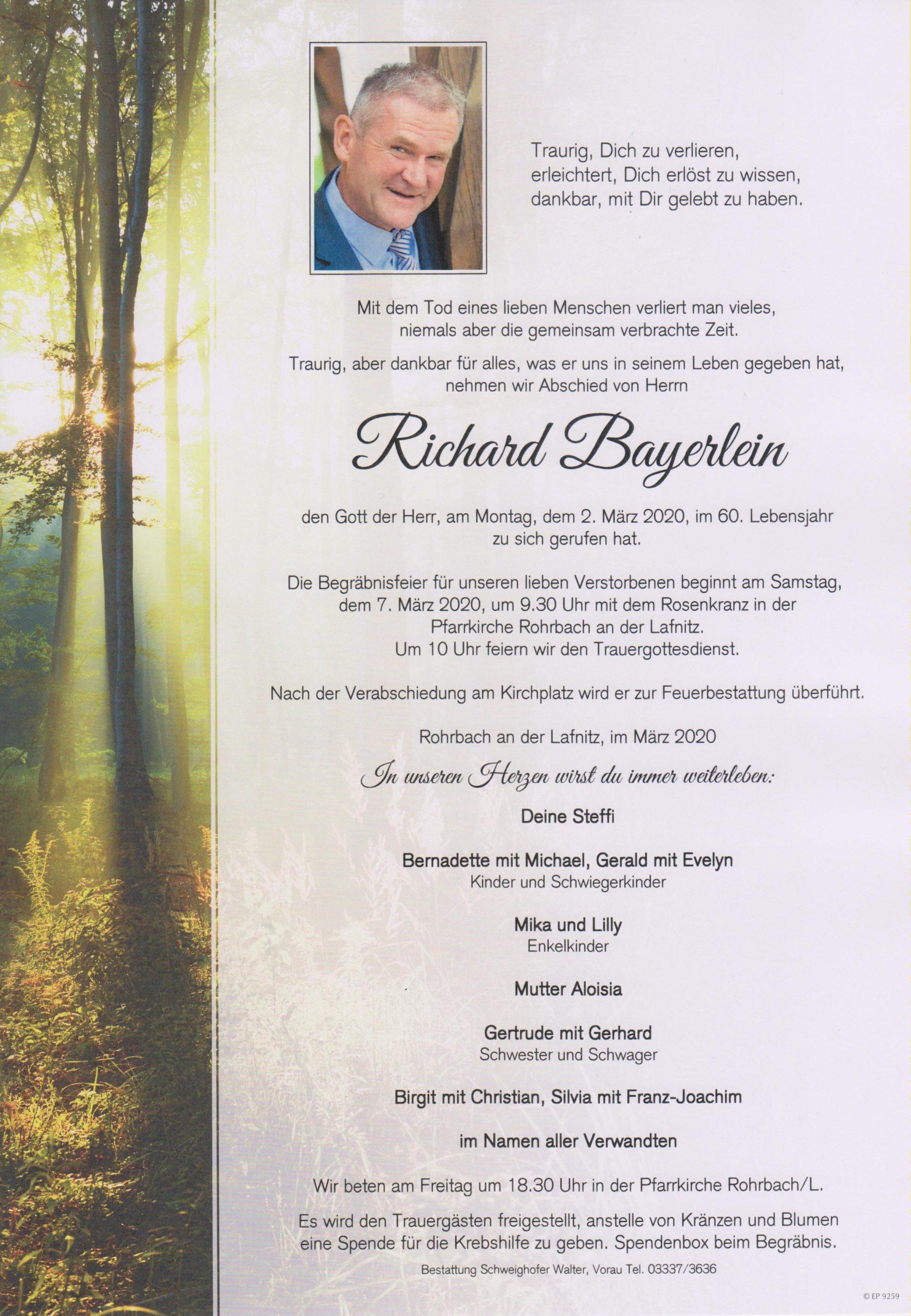 Richard Bayerlein