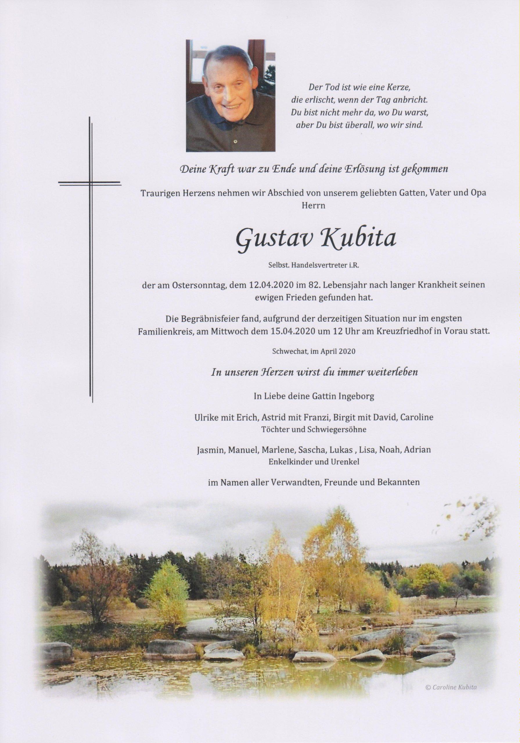 Gustav Kubita