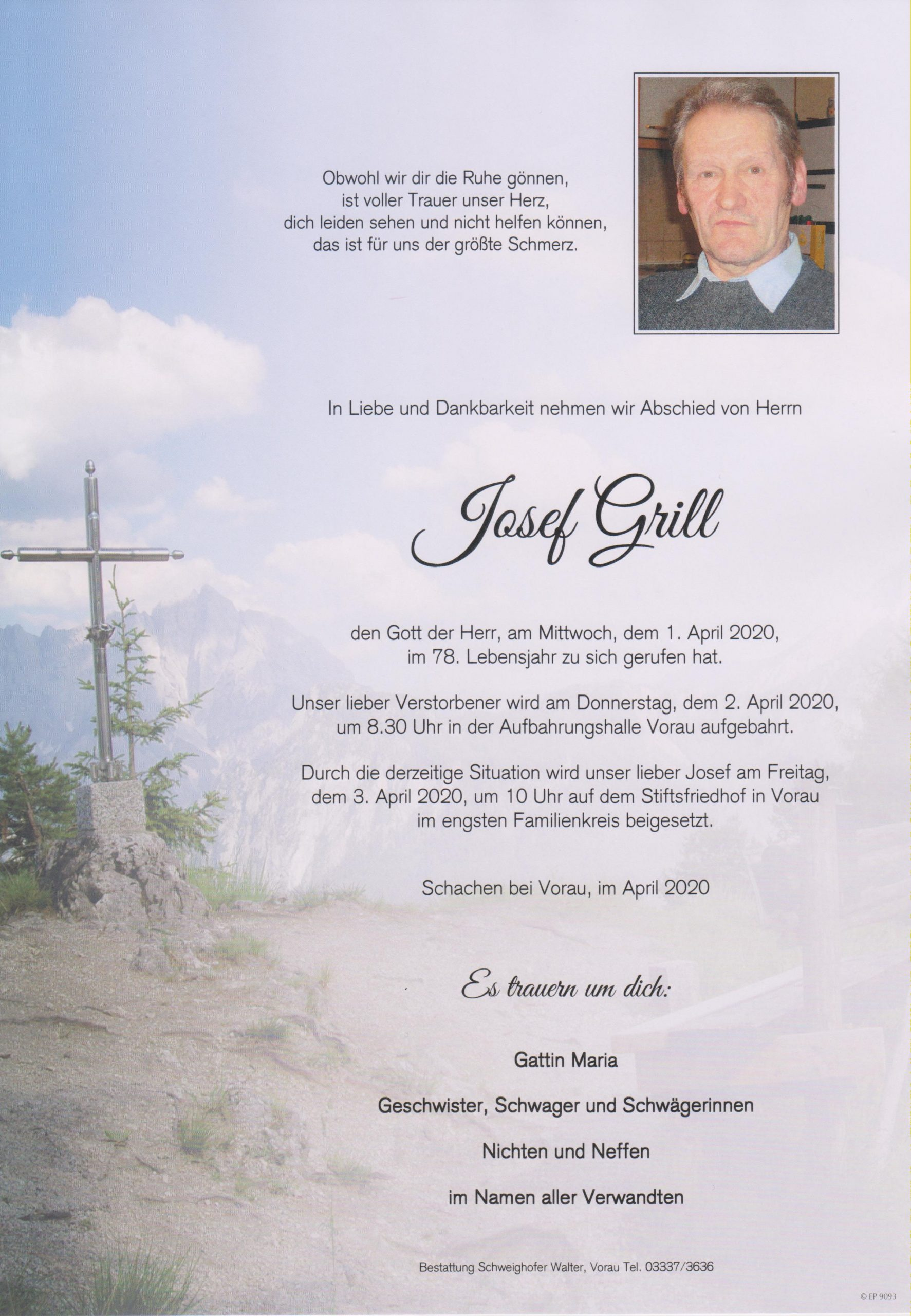 Josef Grill