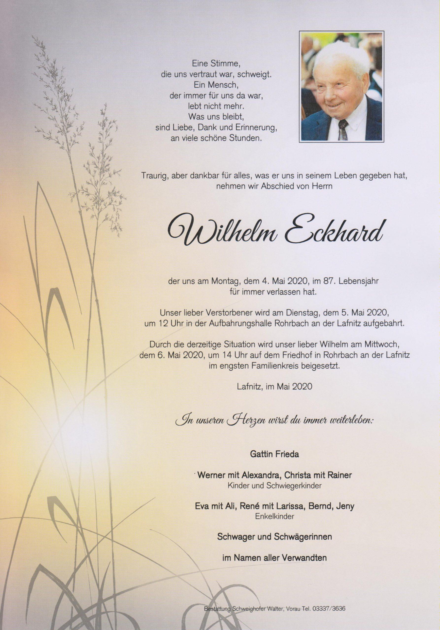 Wilhelm Eckhard