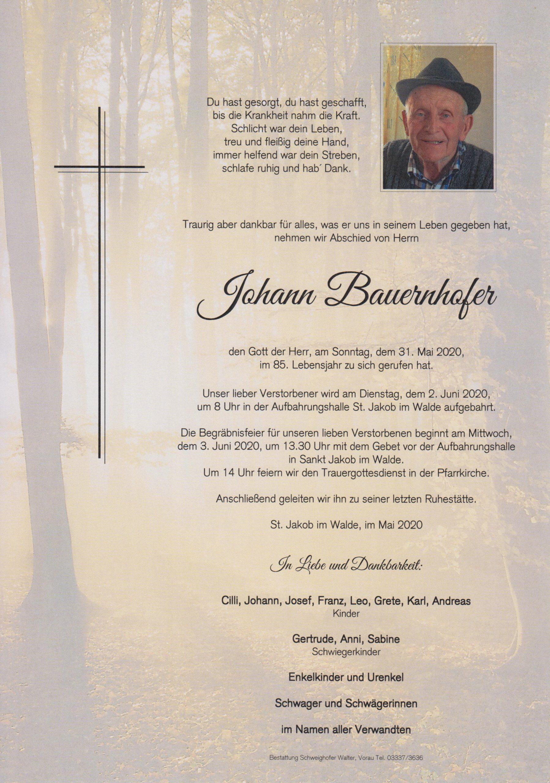 Johann Bauernhofer