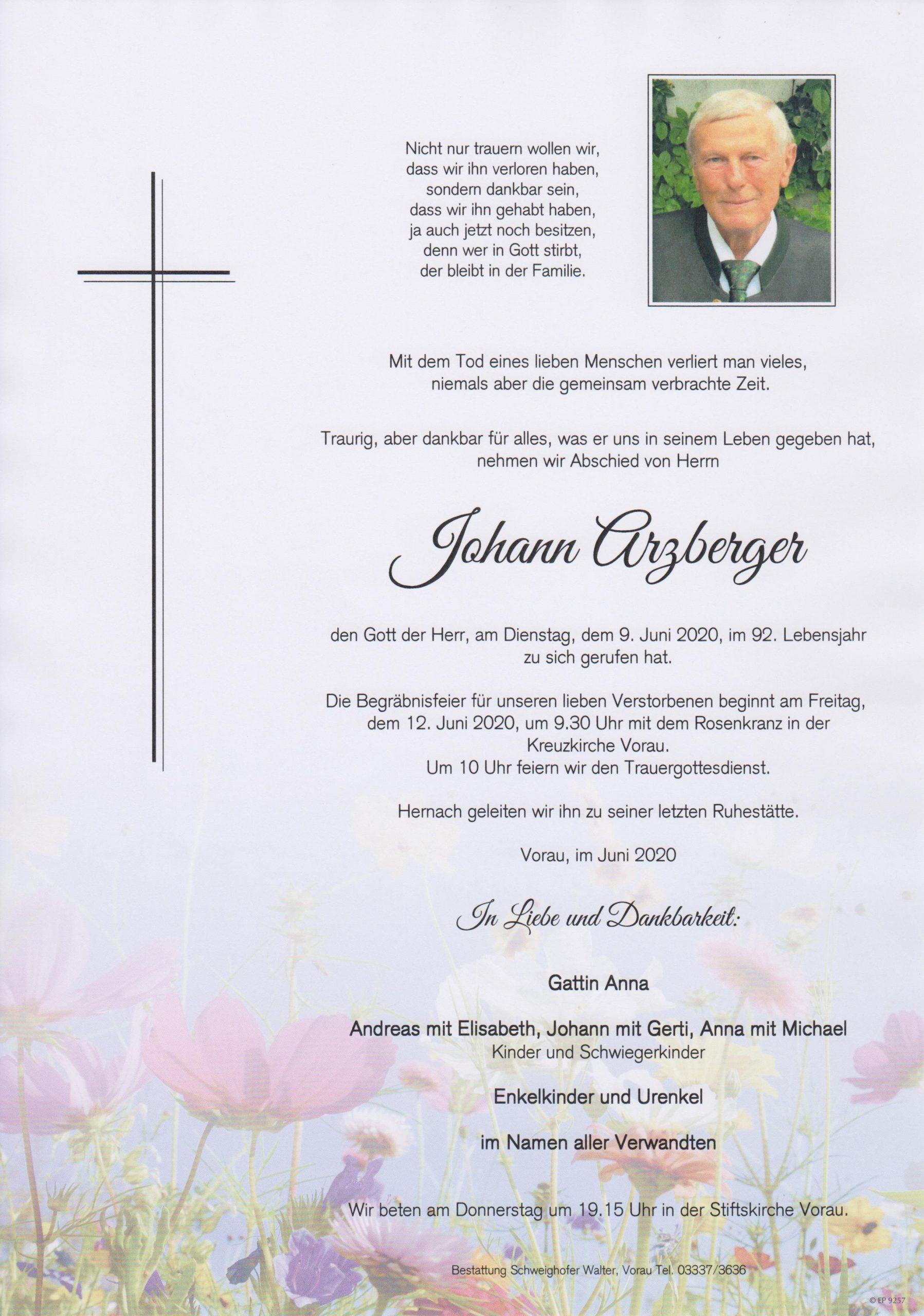 Johann Arzberger