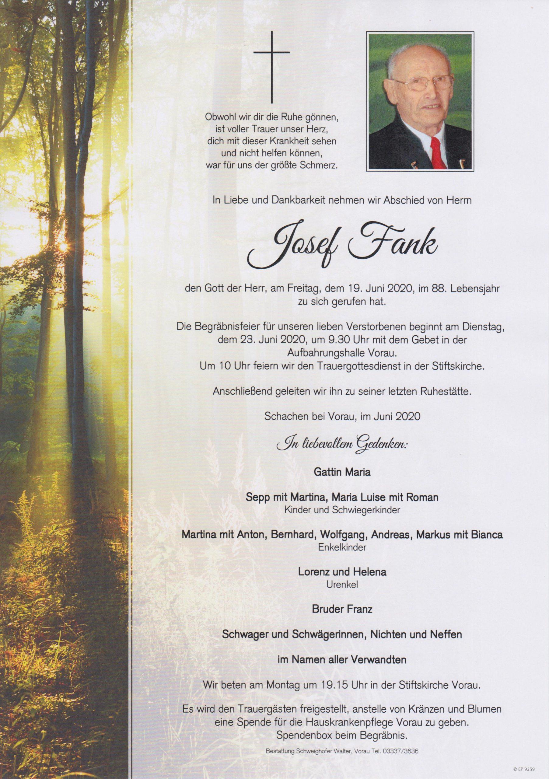 Josef Fank