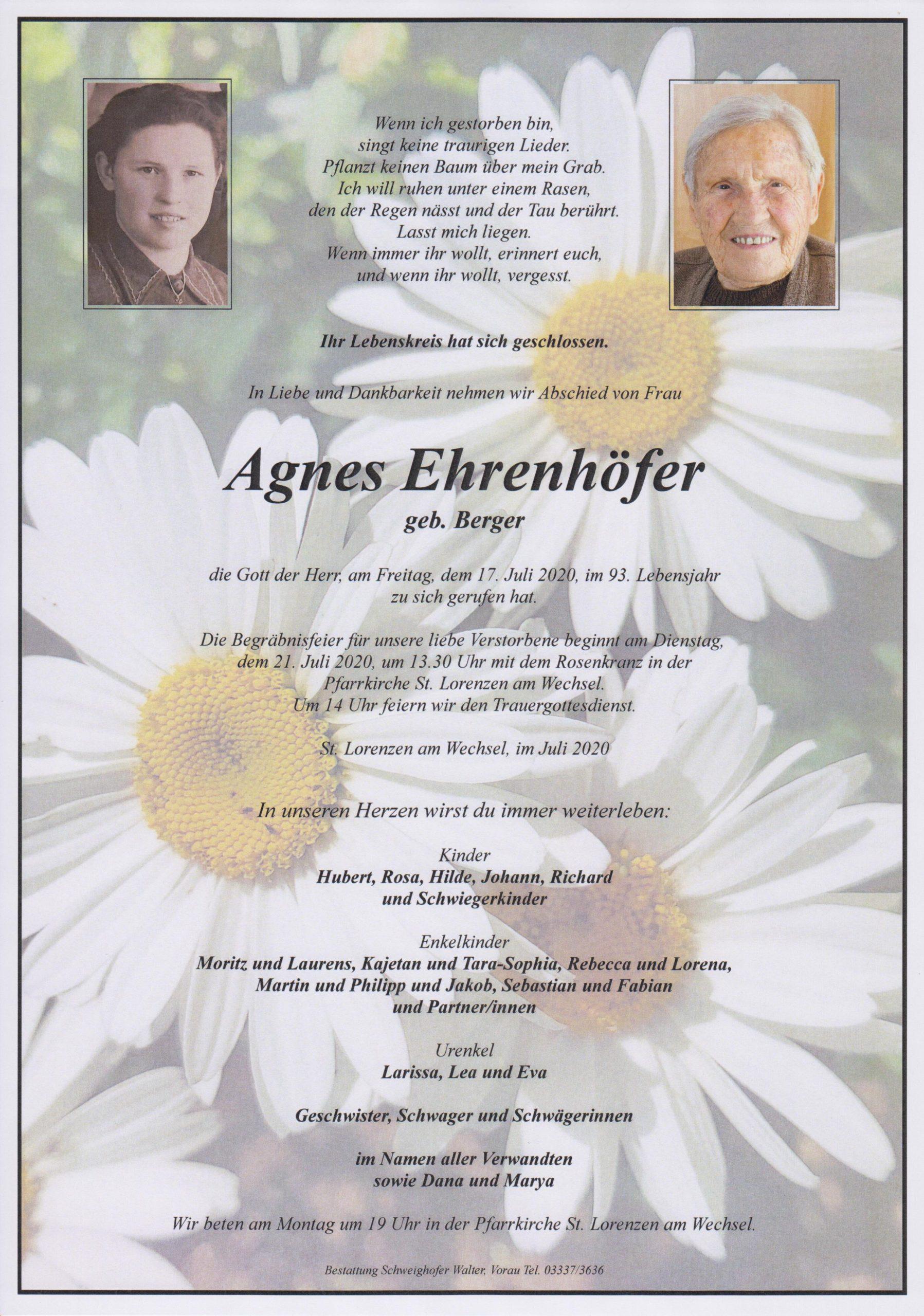 Agnes Ehrenhöfer