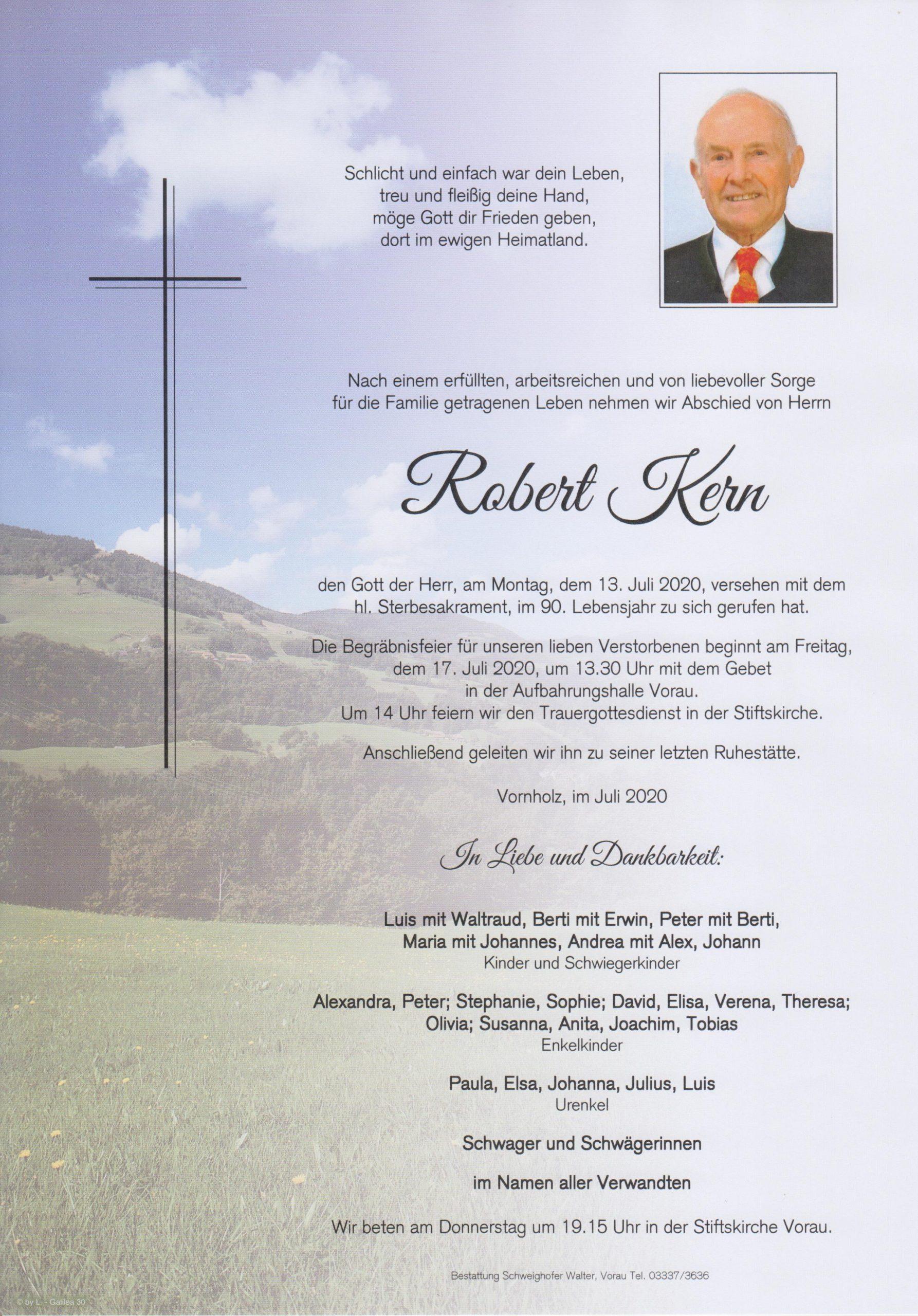 Robert Kern