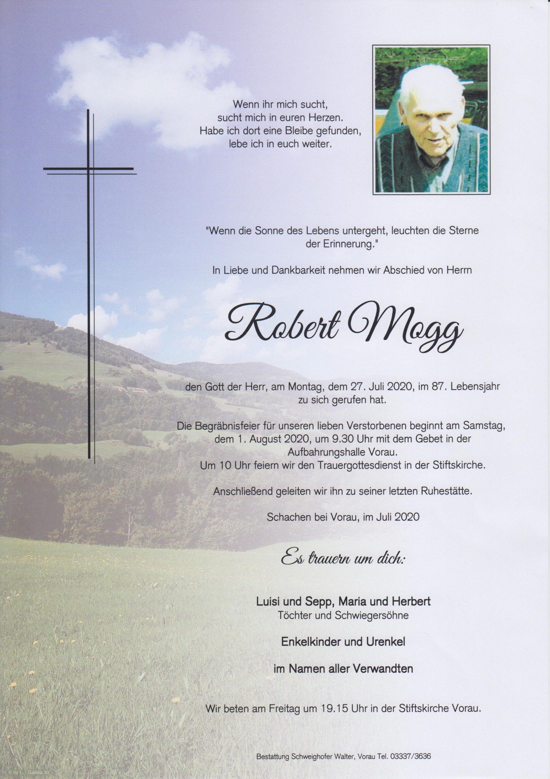 Robert Mogg