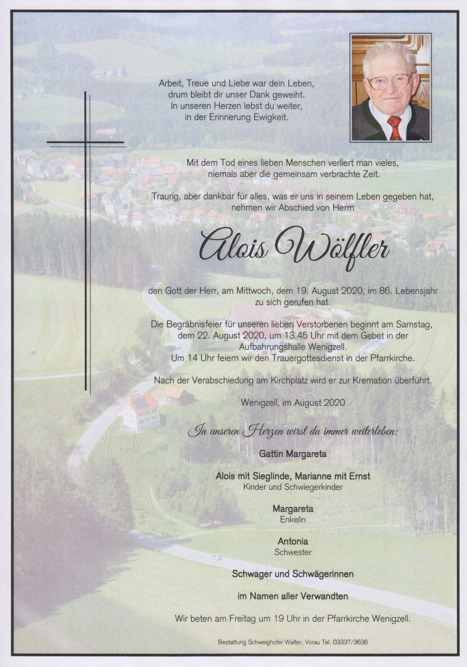 Alois Wöfler