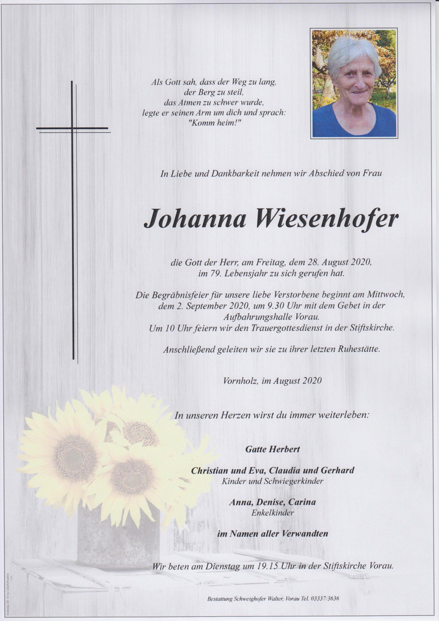 Johanna Wiesenhofer