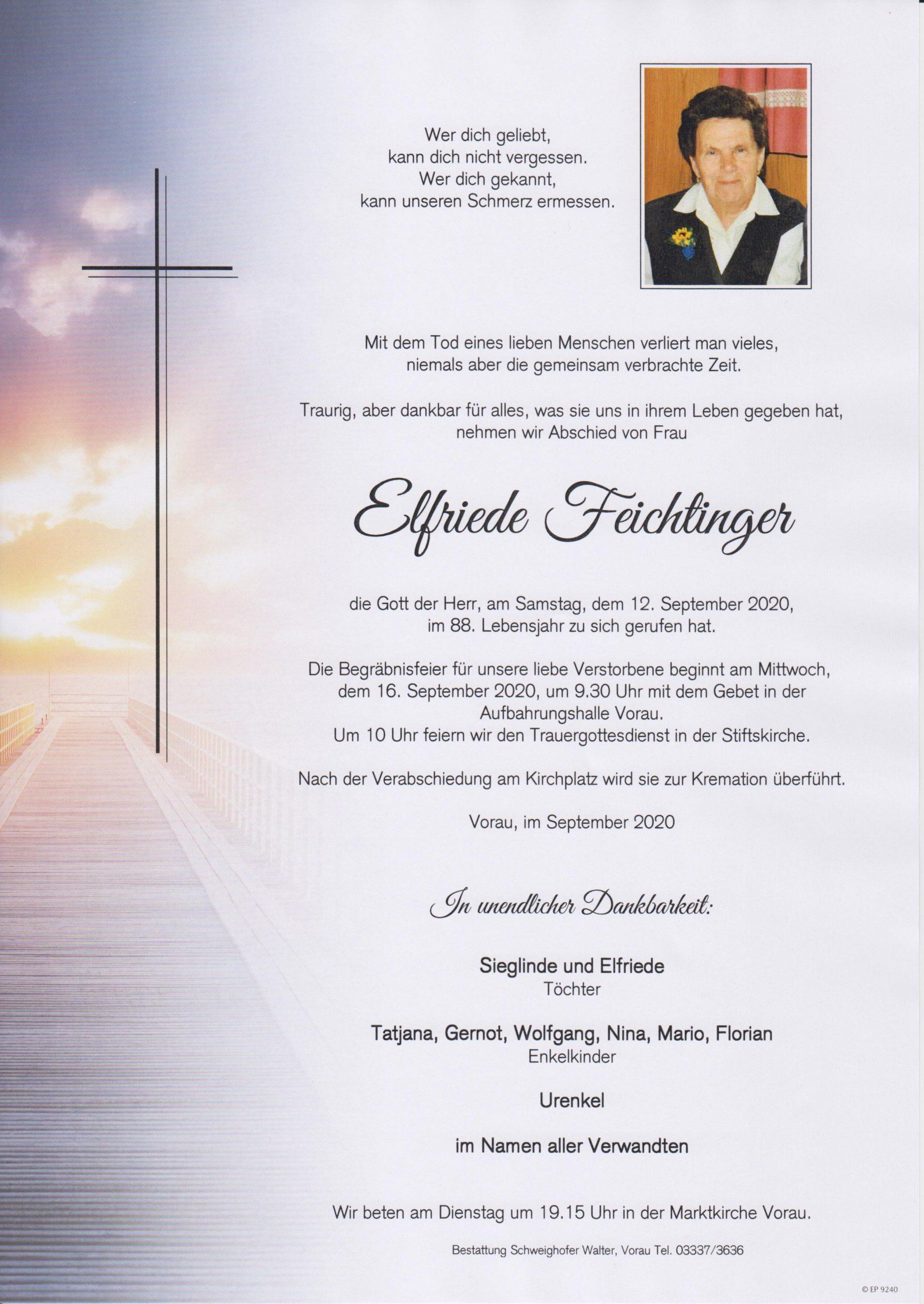 Elfriede Feichtinger