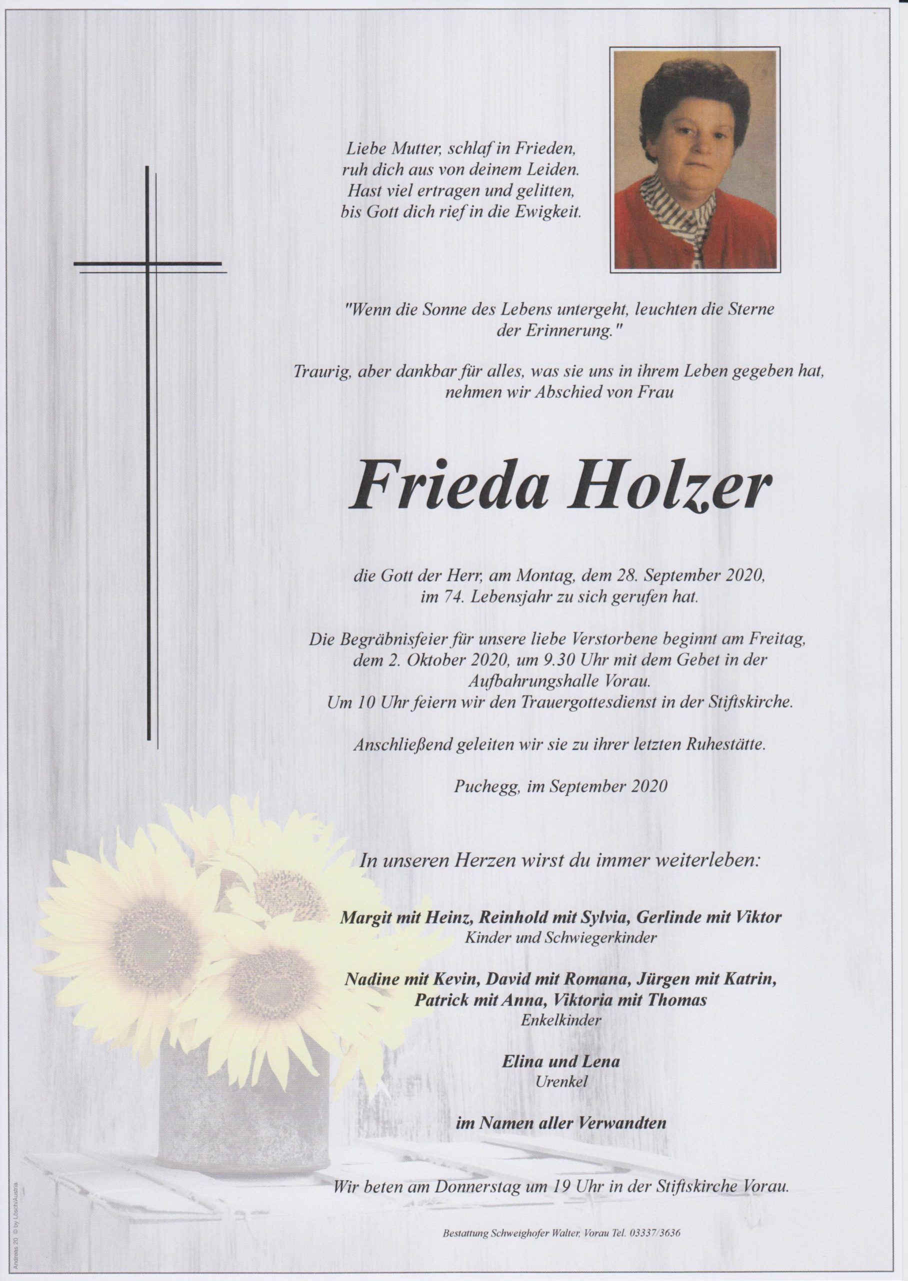 You are currently viewing Frieda Holzer