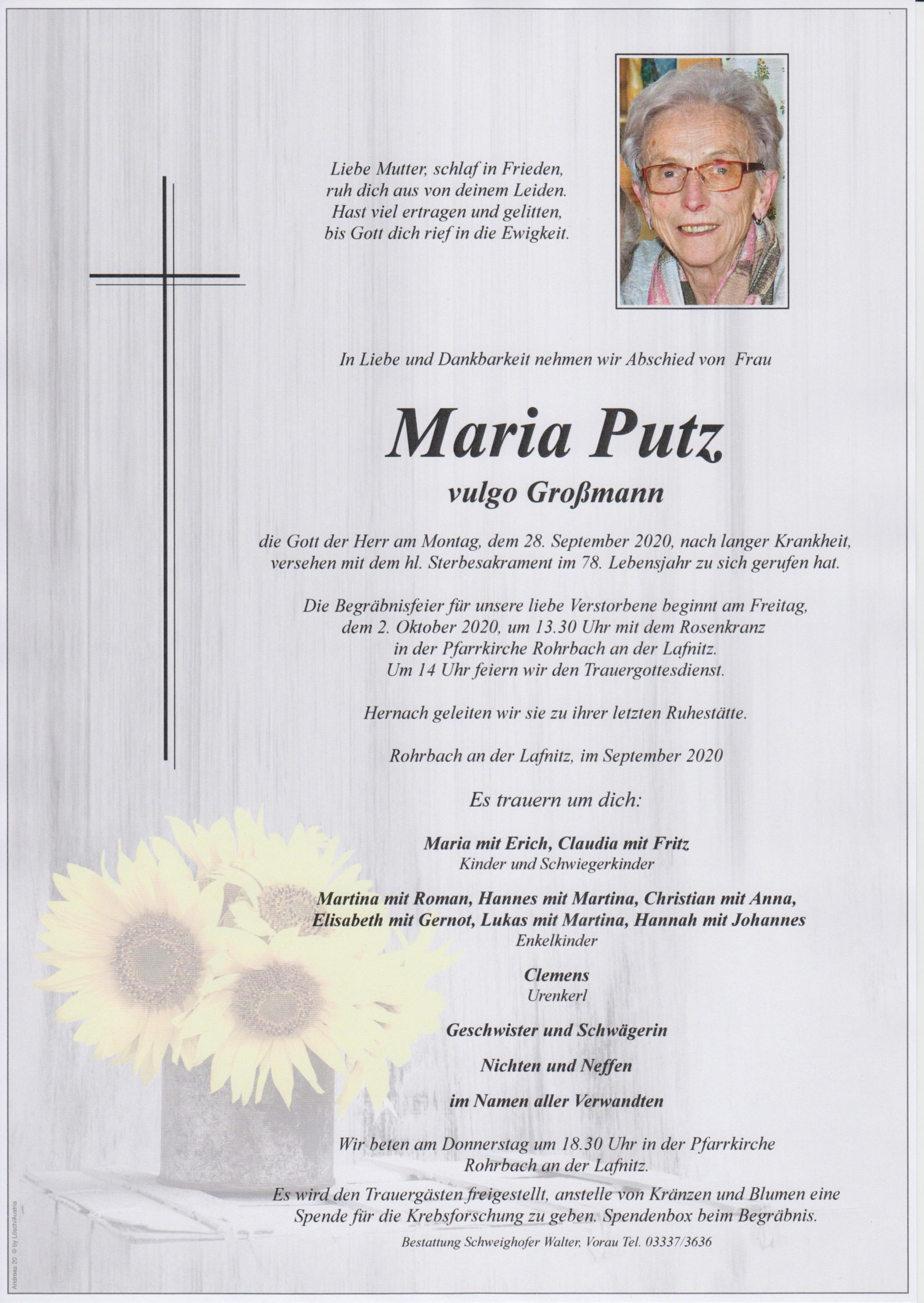 You are currently viewing Maria Putz