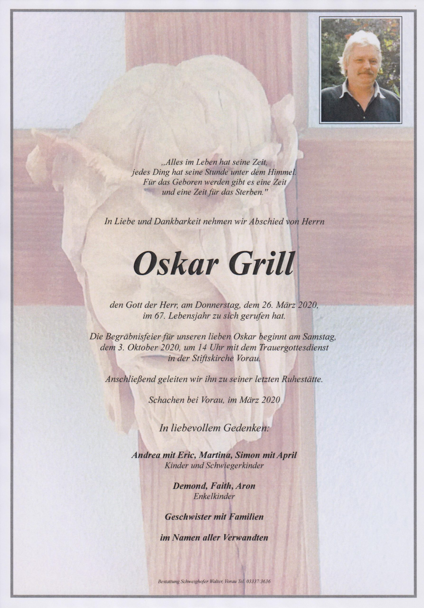 You are currently viewing Oskar Grill