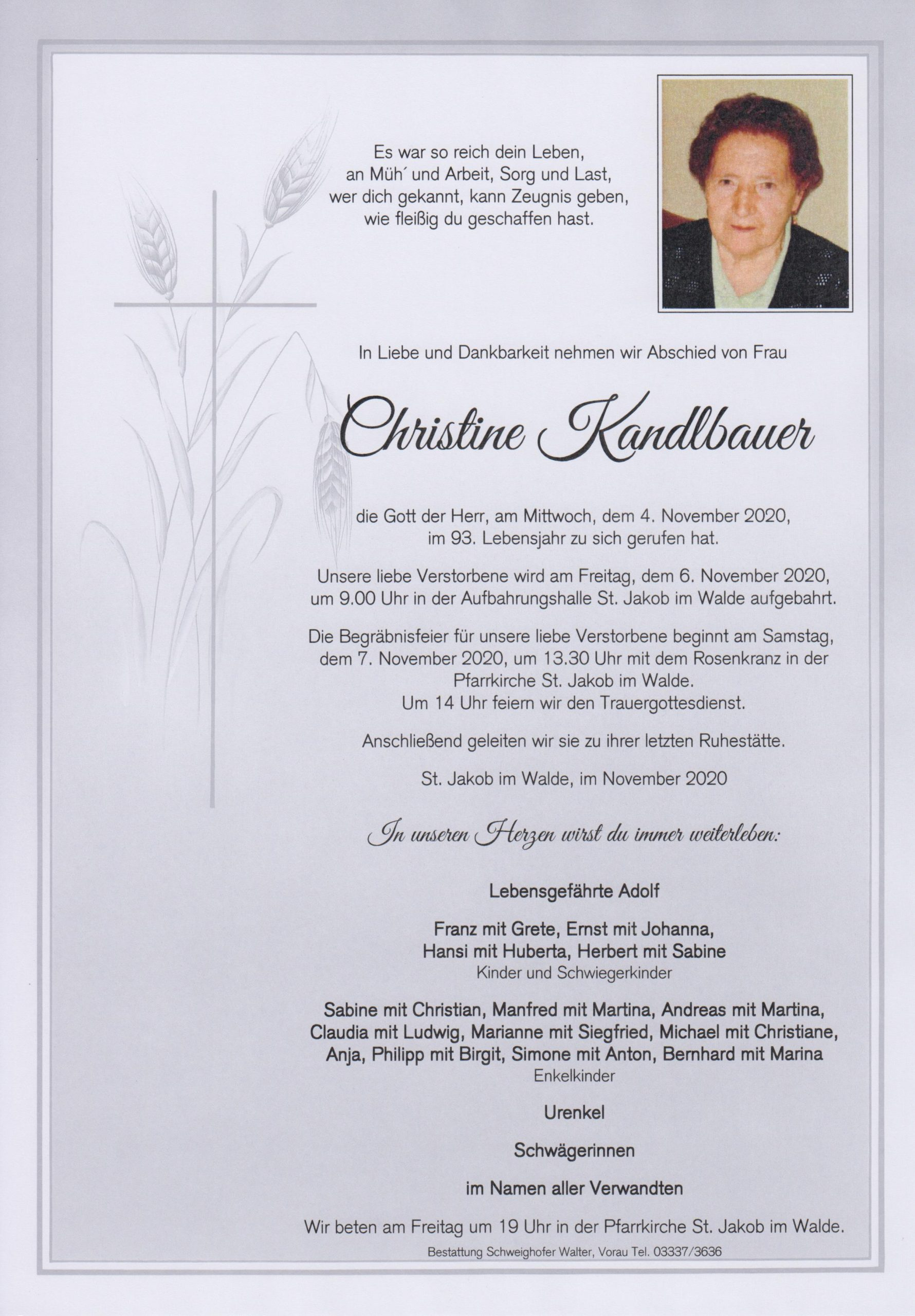 You are currently viewing Christine Kandlbauer
