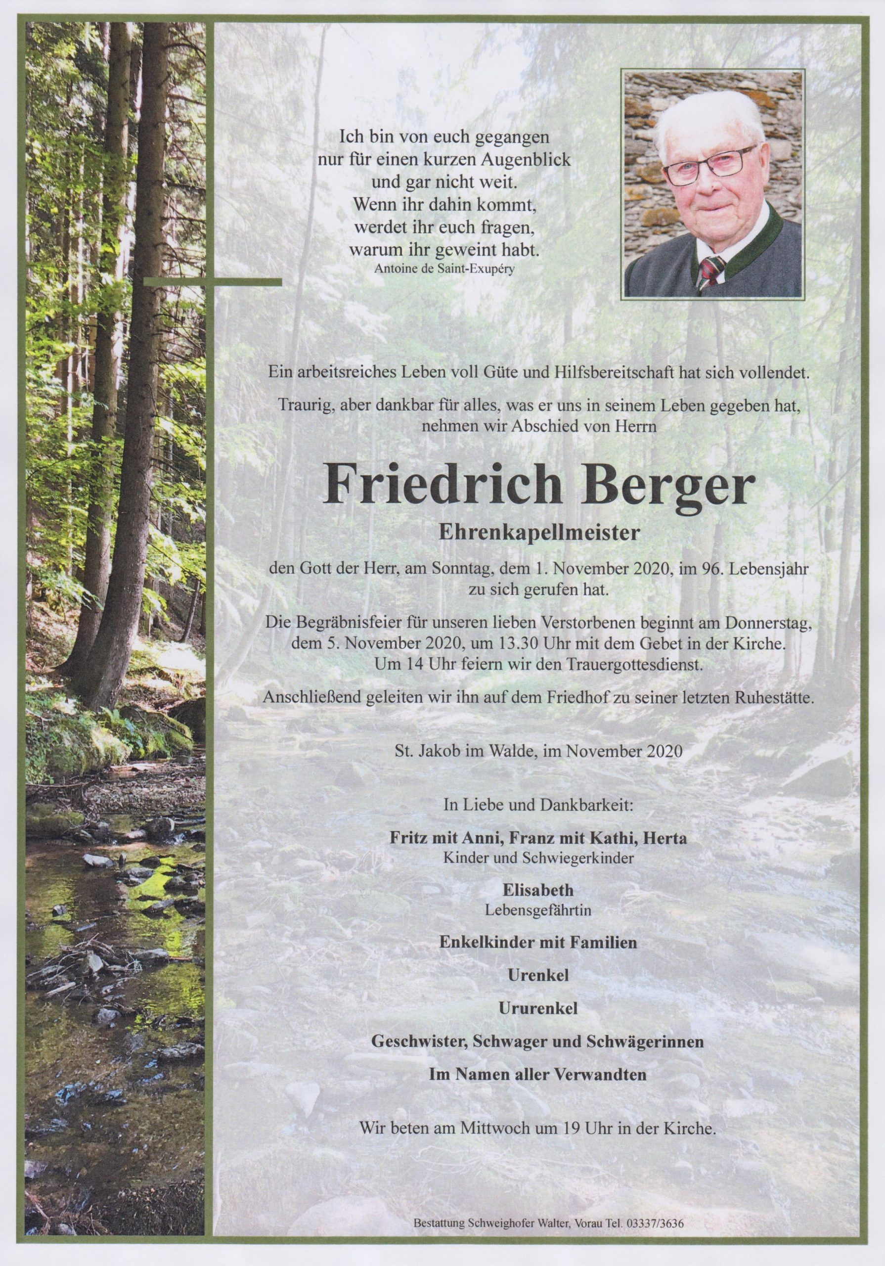 You are currently viewing Friedrich Berger