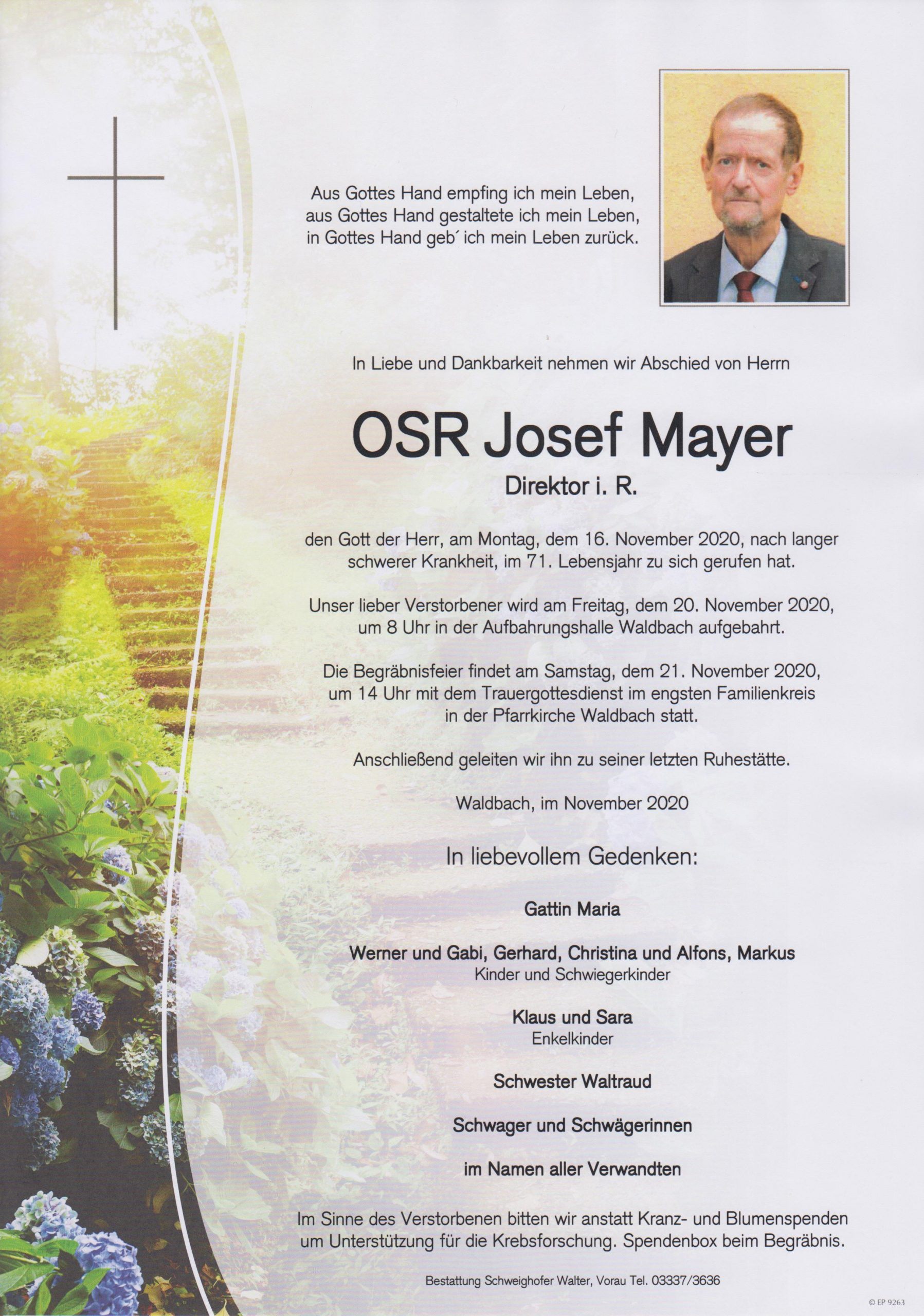 You are currently viewing OSR Josef Mayer