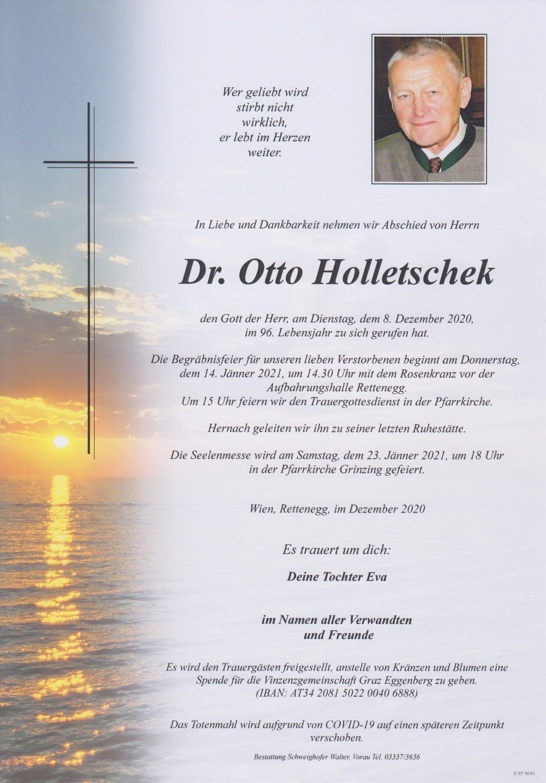 You are currently viewing Dr. Otto Holetschek