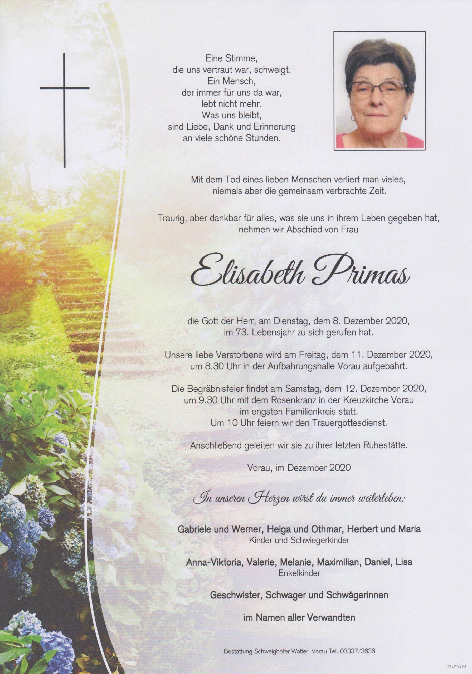 You are currently viewing Elisabeth Primas