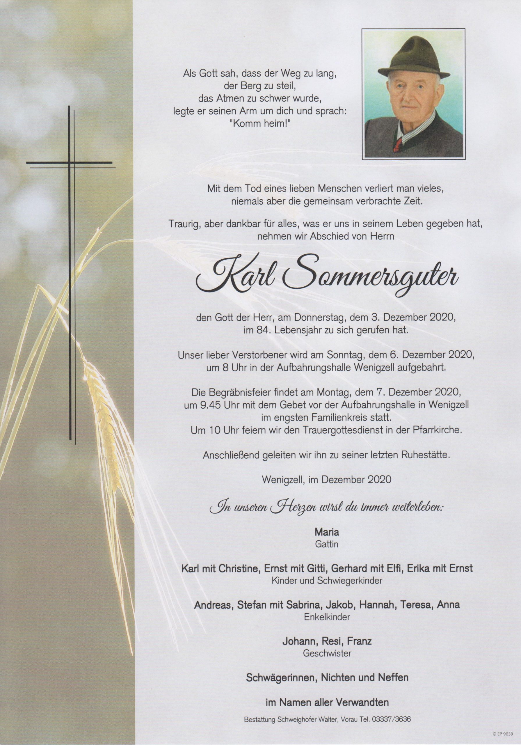 You are currently viewing Karl Sommersguter