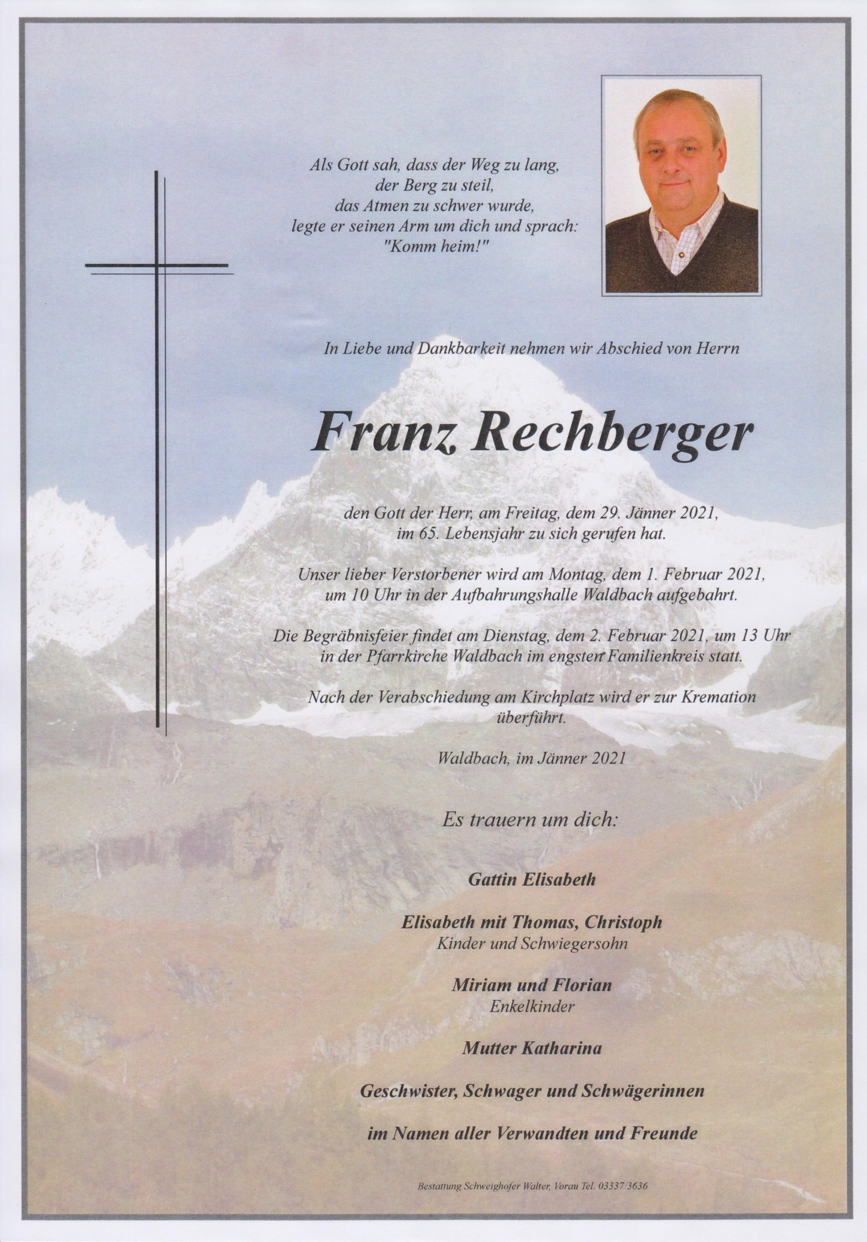 You are currently viewing Franz Rechberger