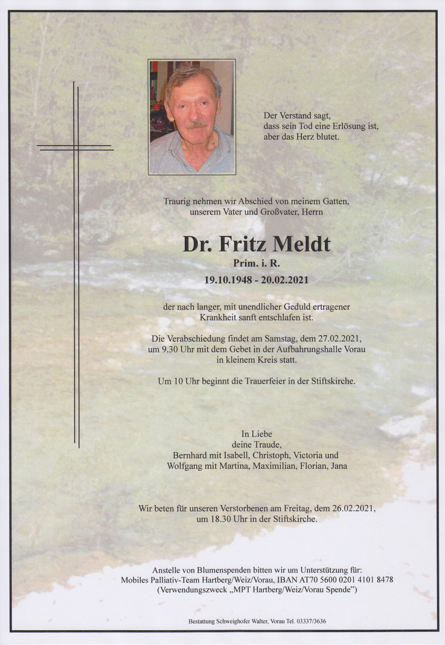 You are currently viewing Prim. Dr. Fritz Meldt