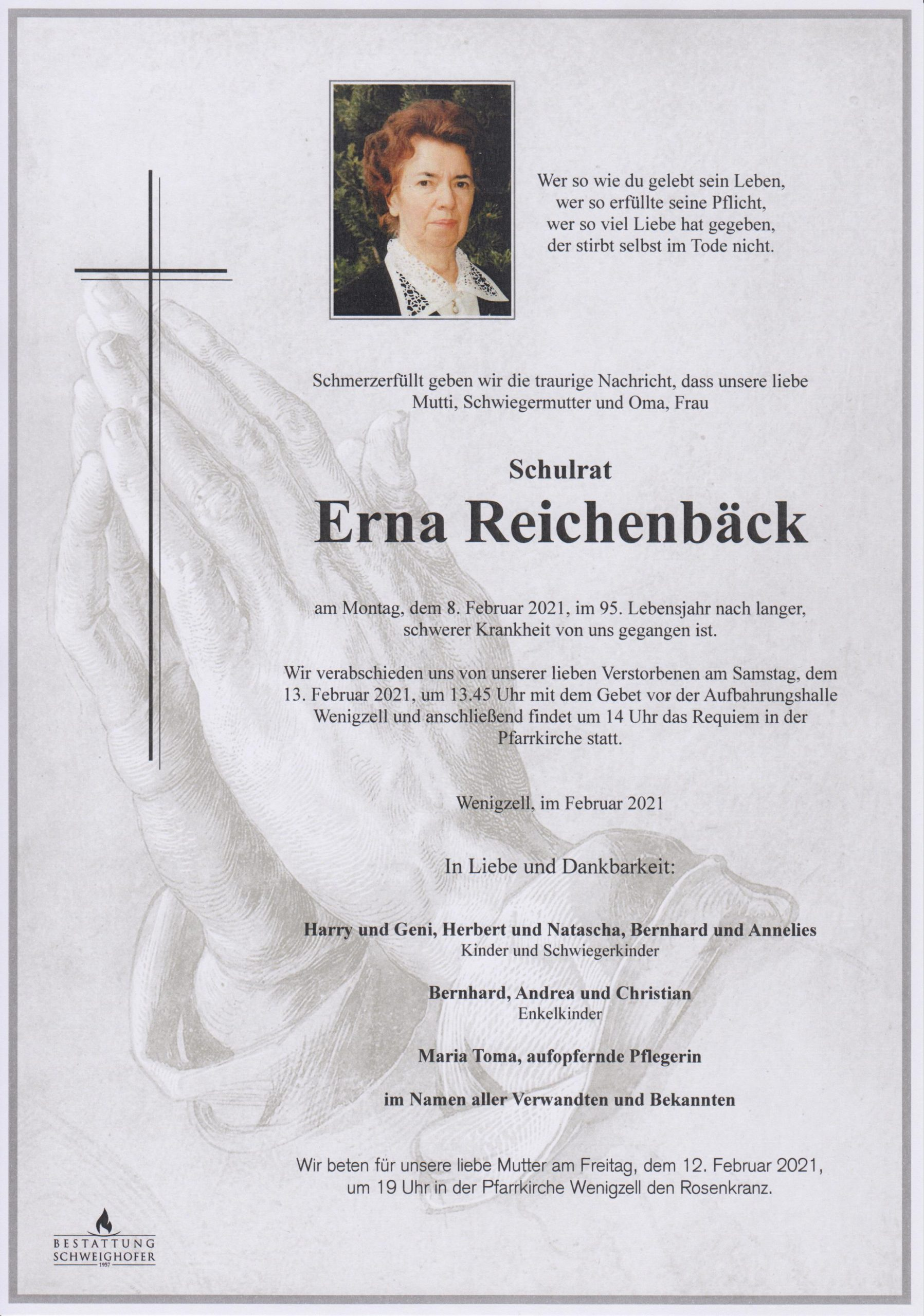 You are currently viewing Schulrat Erna Reichenbäck