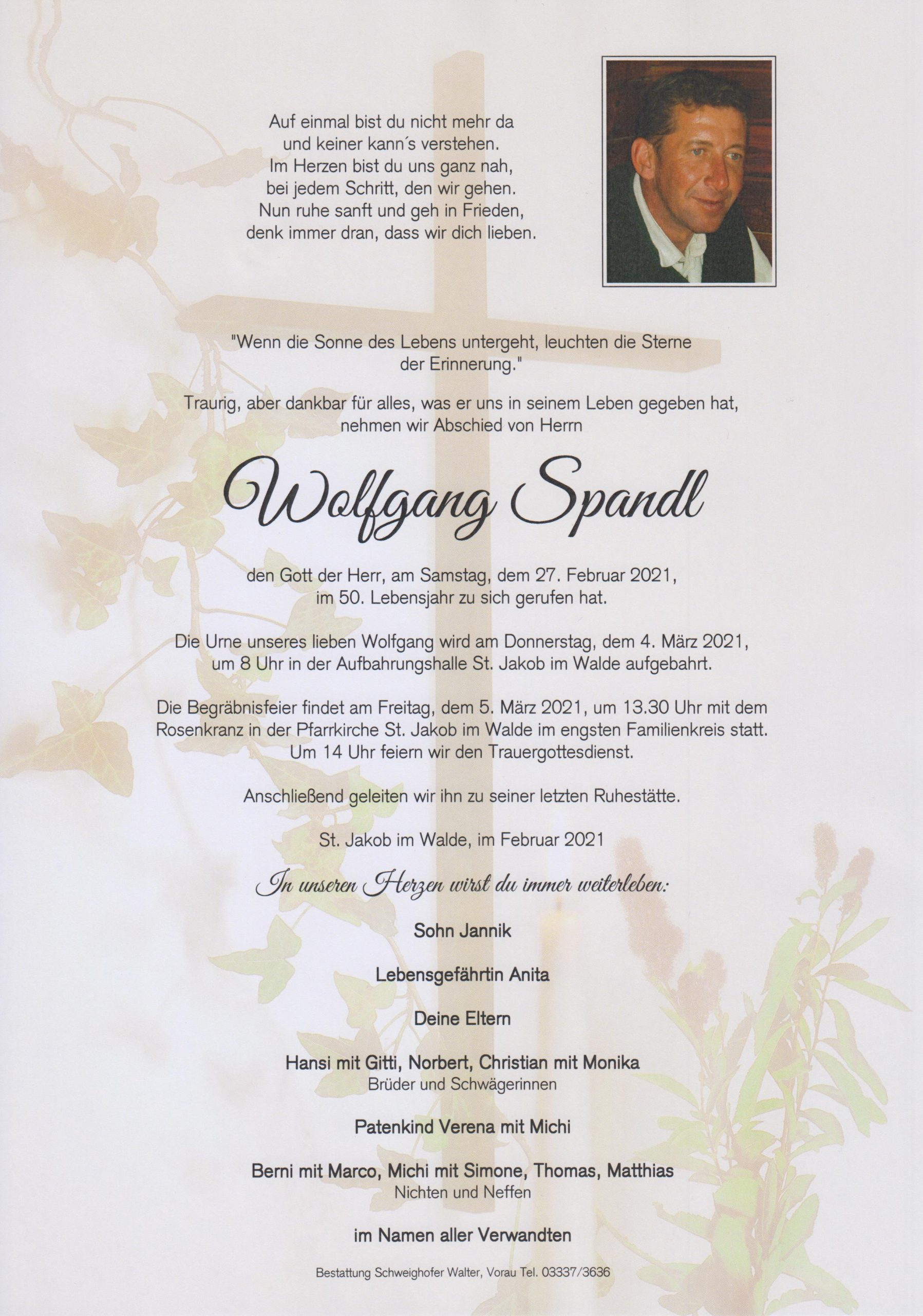 You are currently viewing Wolfgang Spandl