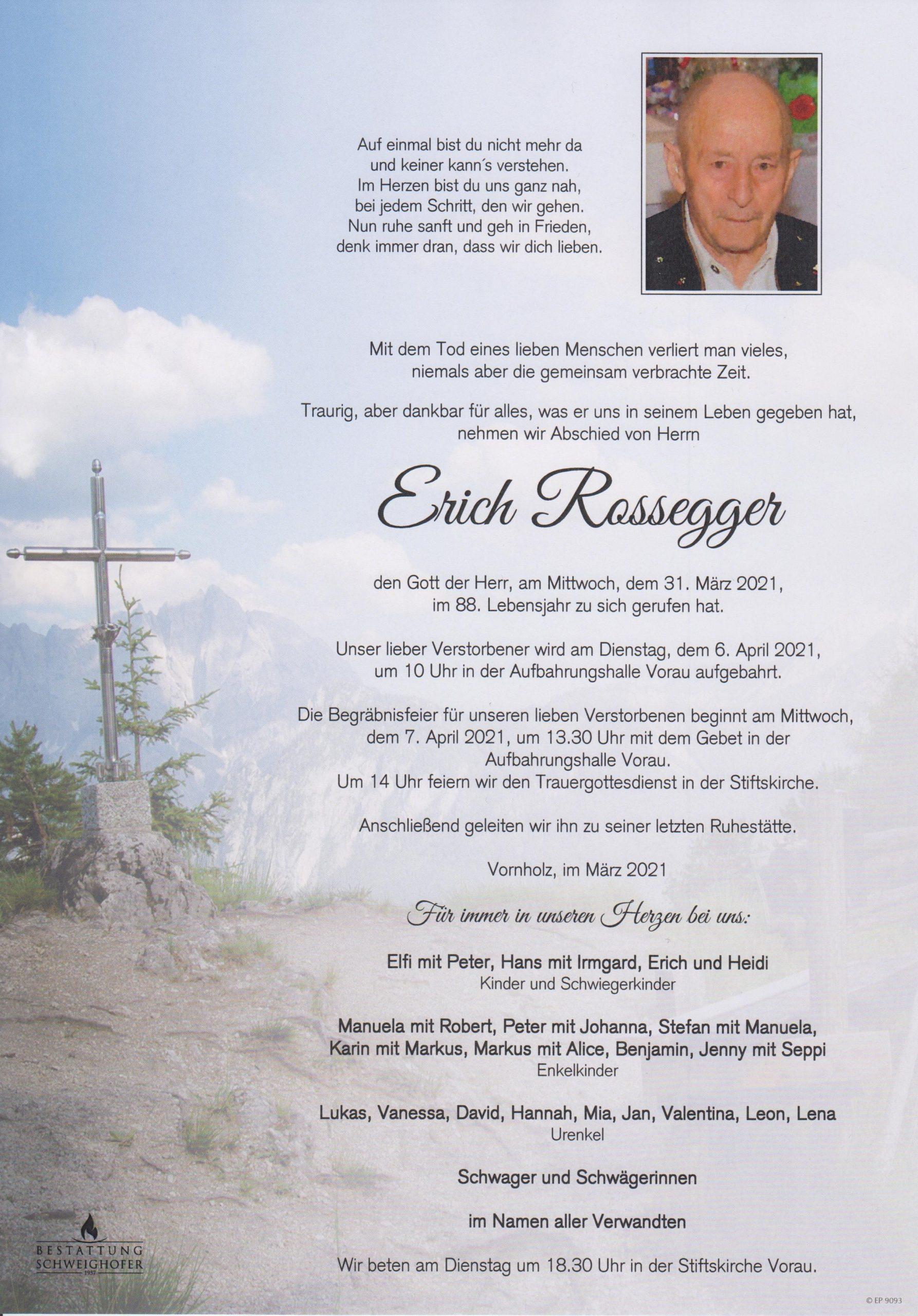 Erich Rossegger