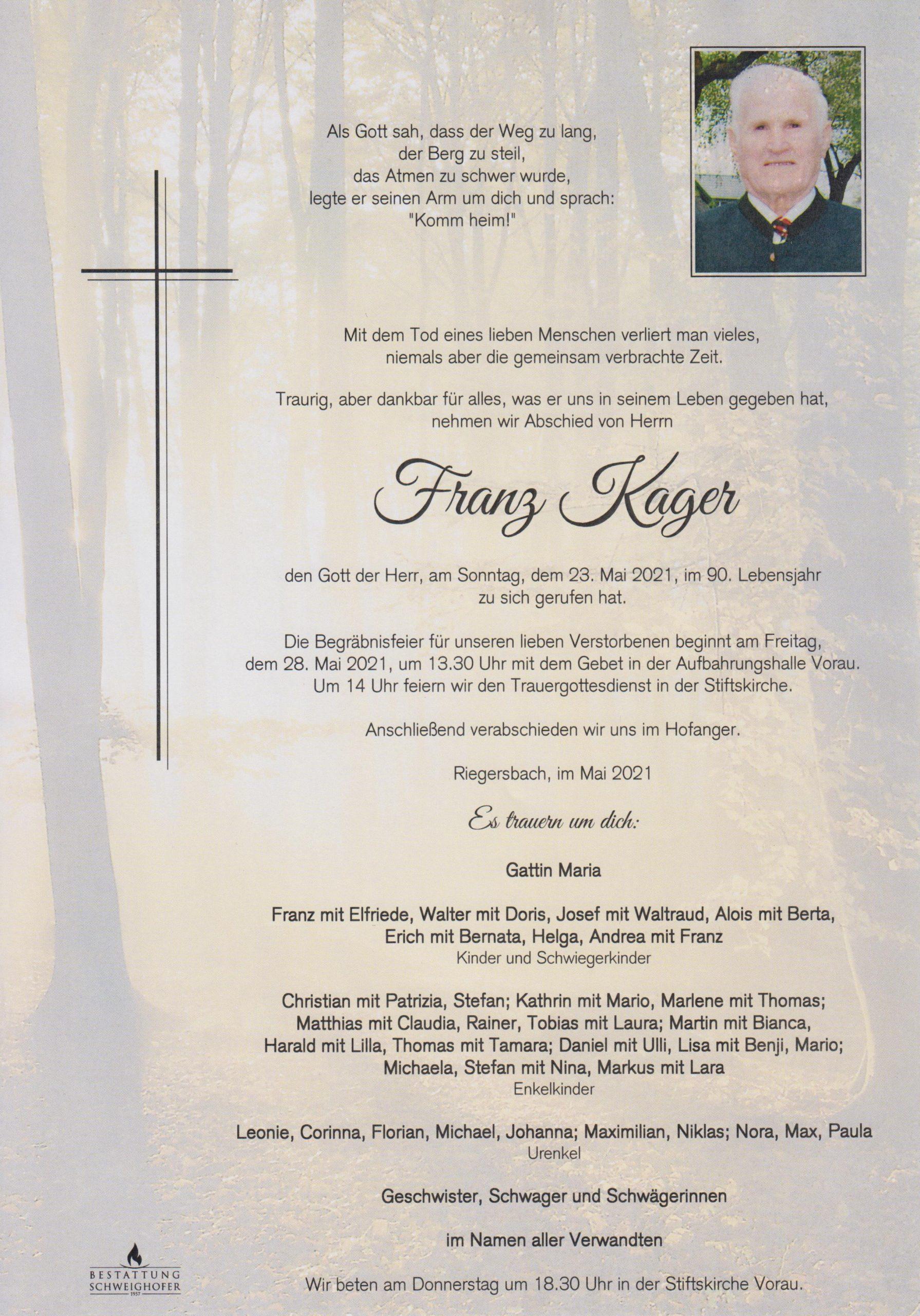Franz Kager