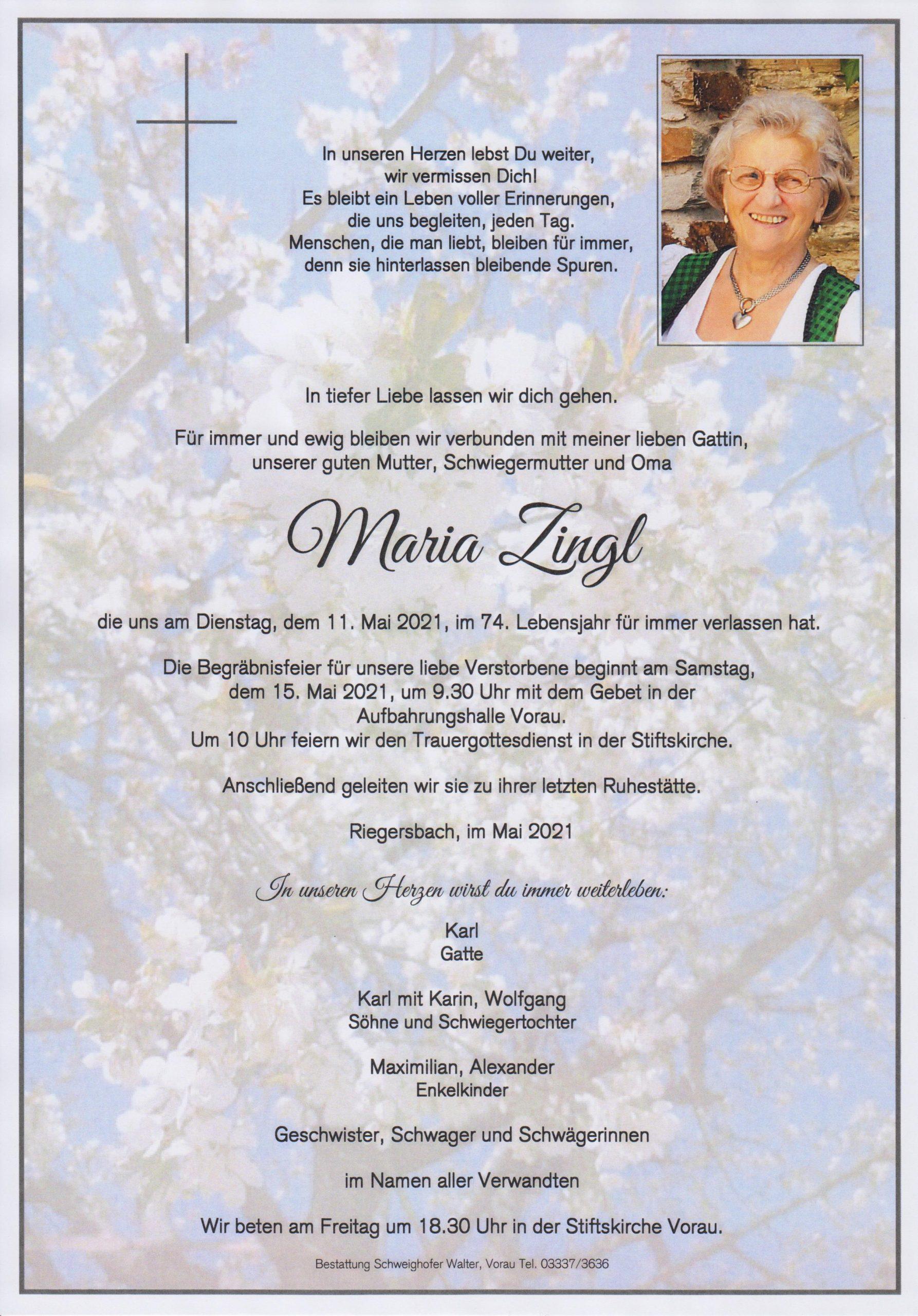 Maria Zingl