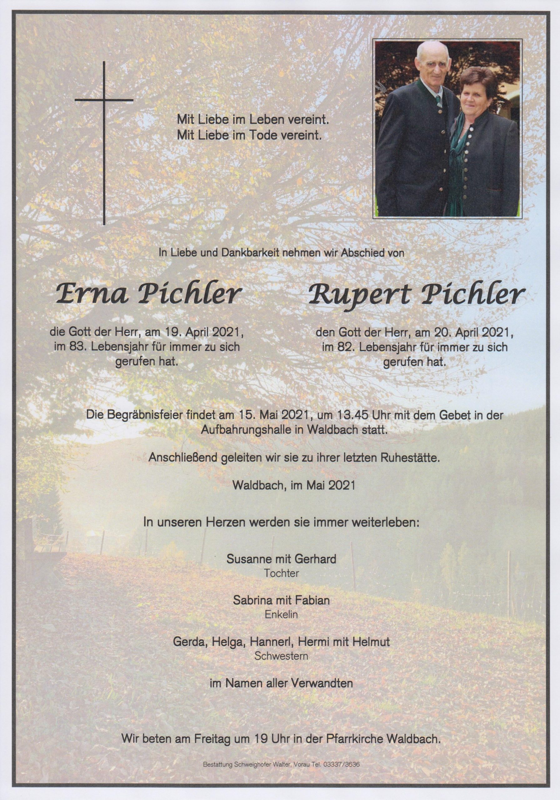You are currently viewing Erna und Rupert Pichler